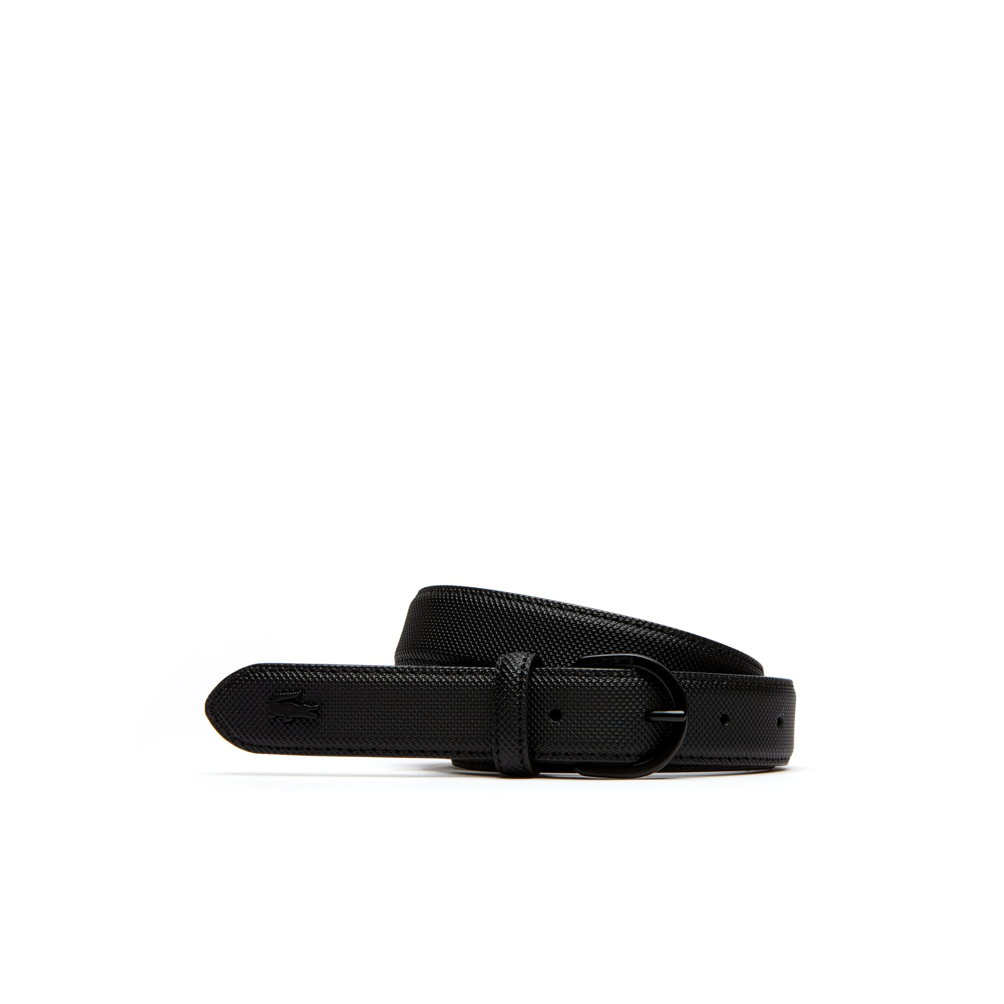 Women's L.12.12 Concept Monochrome Fine Piqué Belt With Tongue Buckle