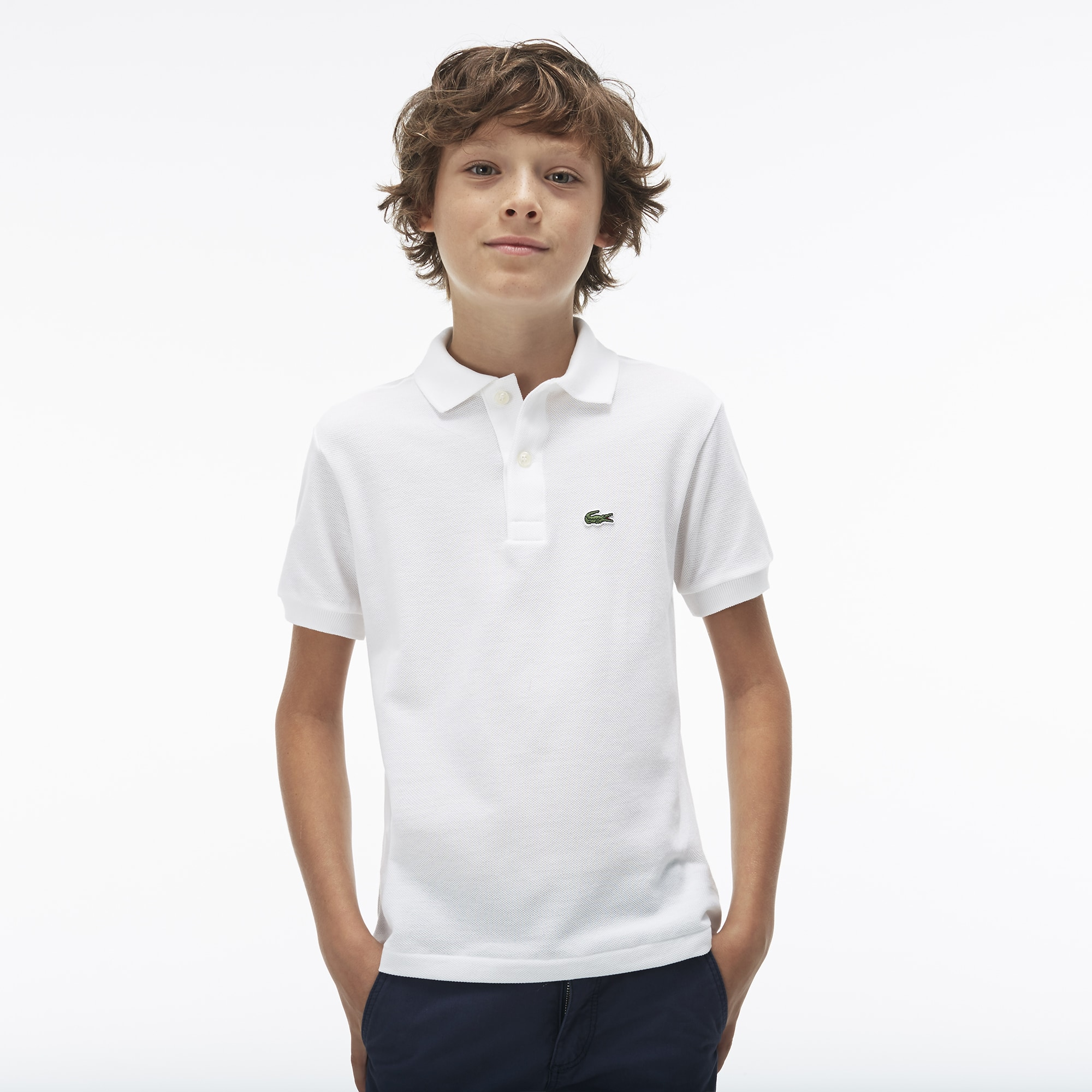 Customised Kids Lacoste Polo