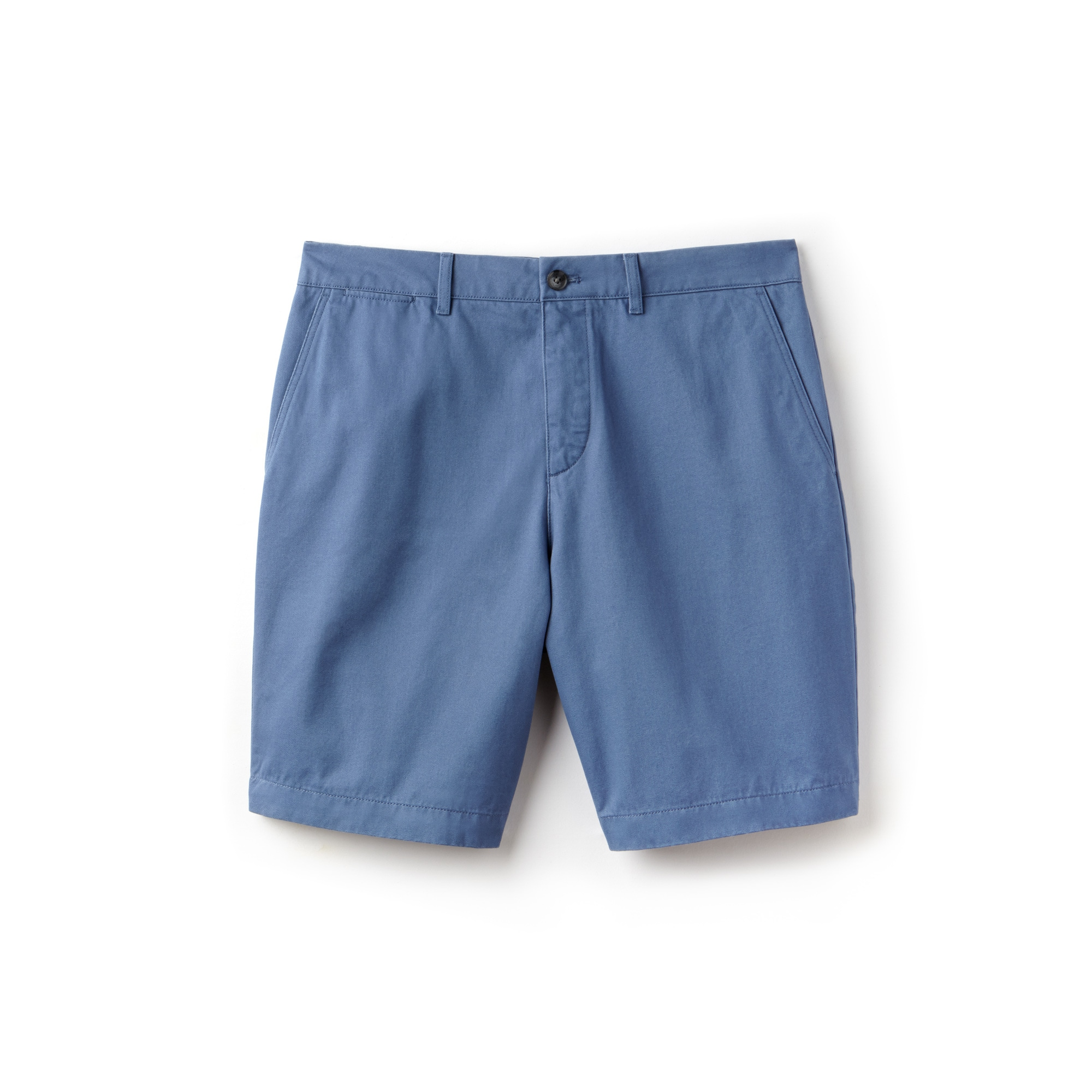Men's Regular Fit Cotton Gabardine Bermuda Shorts