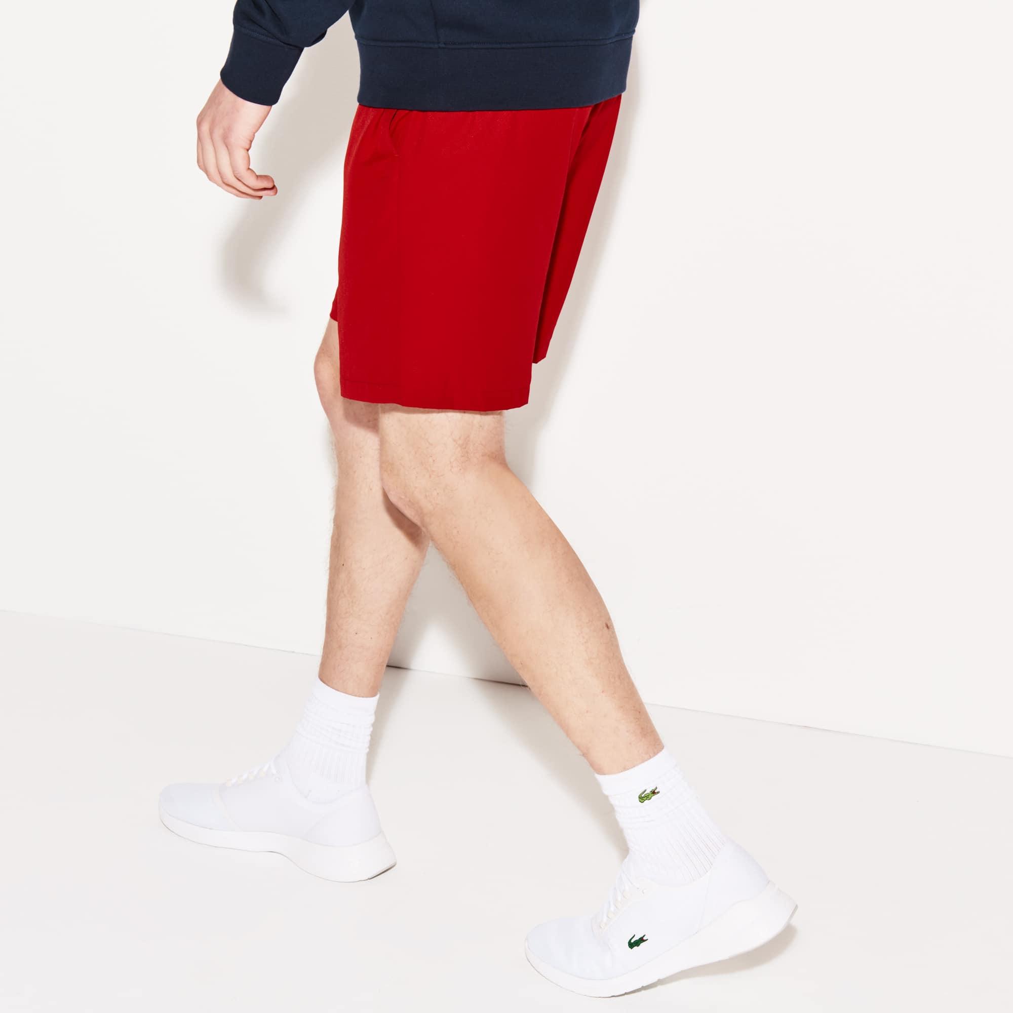 b442a48cf95c6 Lacoste - Men s Lacoste SPORT tennis shorts in solid diamond weave taffeta  - 2