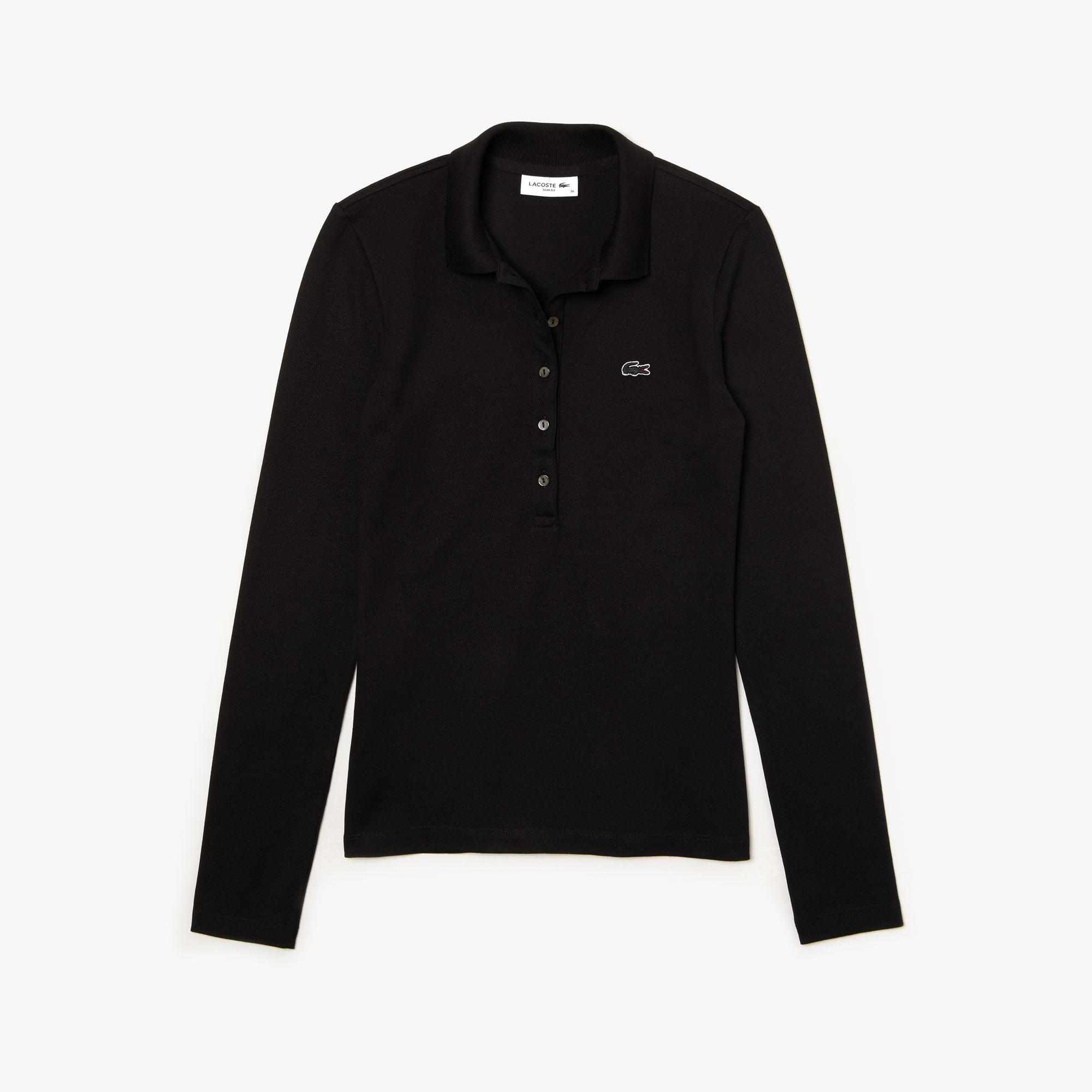 512f8c03d Women s Lacoste Slim Fit Stretch Mini Piqué Polo Shirt