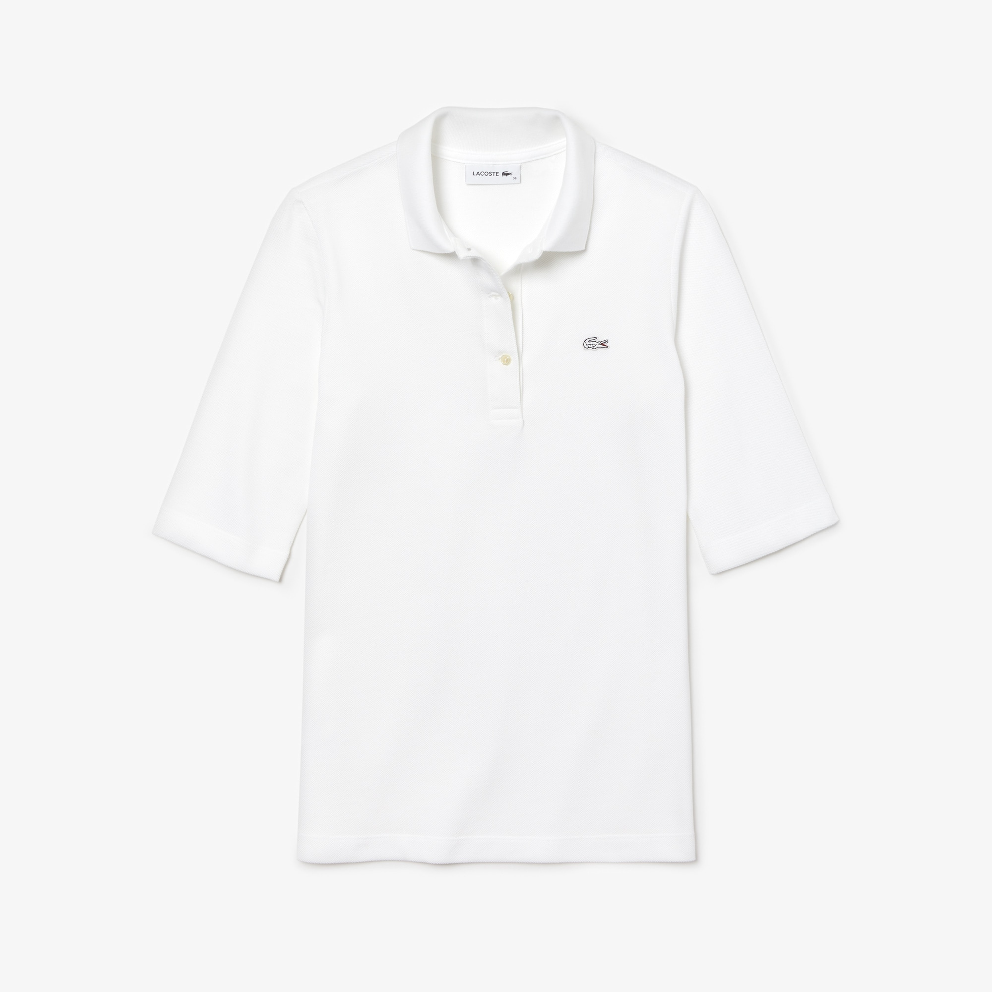 Women's Lacoste Classic Fit Petit Piqué Polo Shirt
