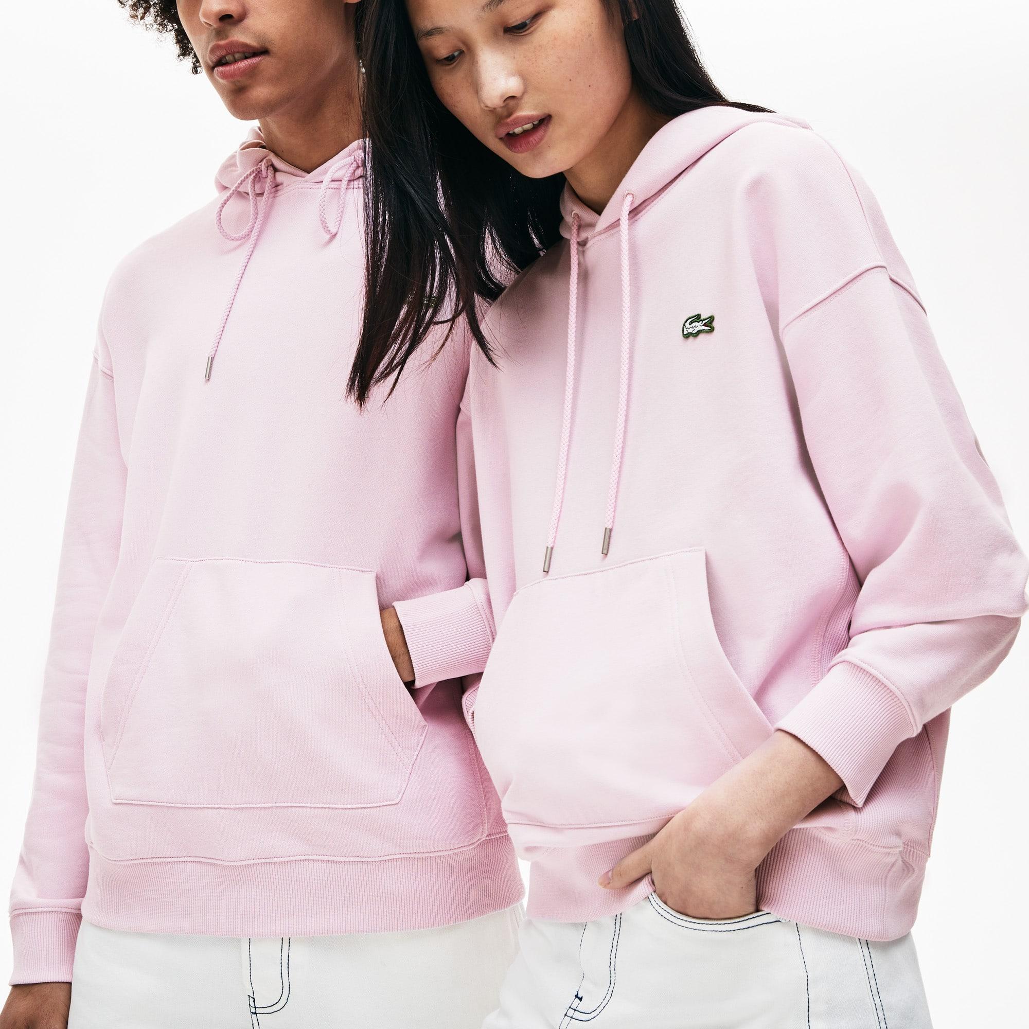f895f247af0ee Unisex Lacoste LIVE Hooded Cotton Sweatshirt