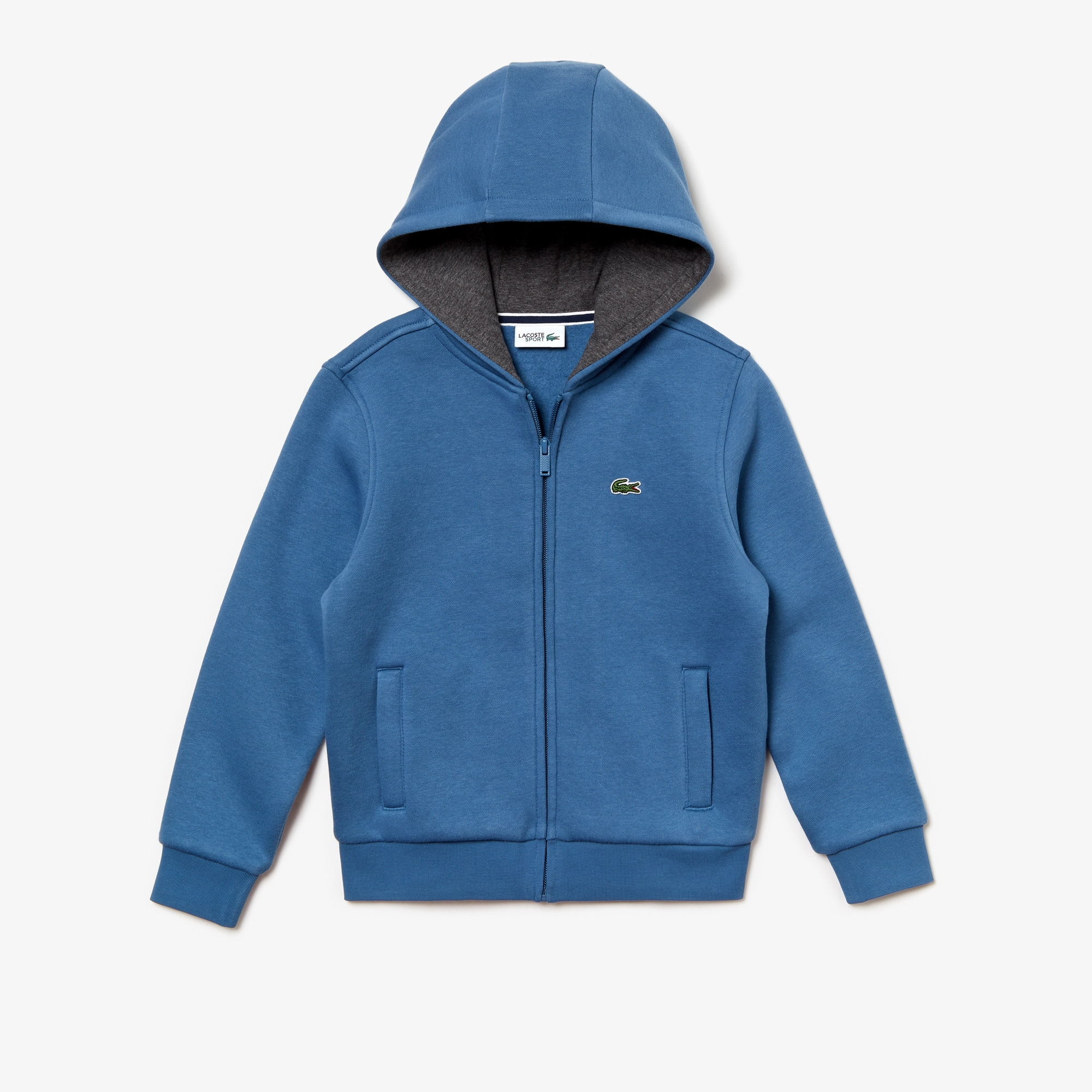 e80e251debefeb Kids  Lacoste SPORT Tennis Zippered Fleece Sweatshirt