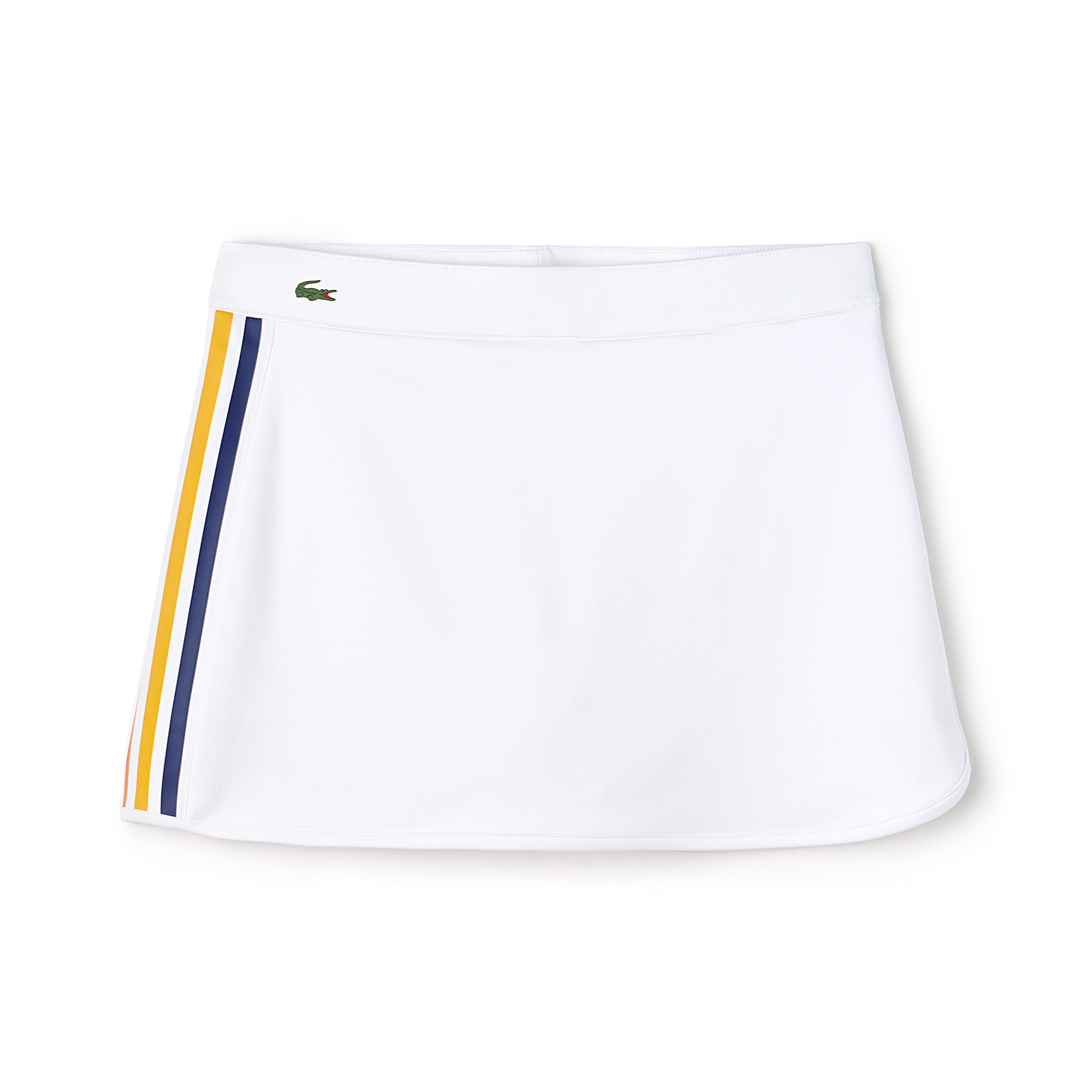 Women's Lacoste SPORT Contrast Bands Tech Jersey Tennis Skirt