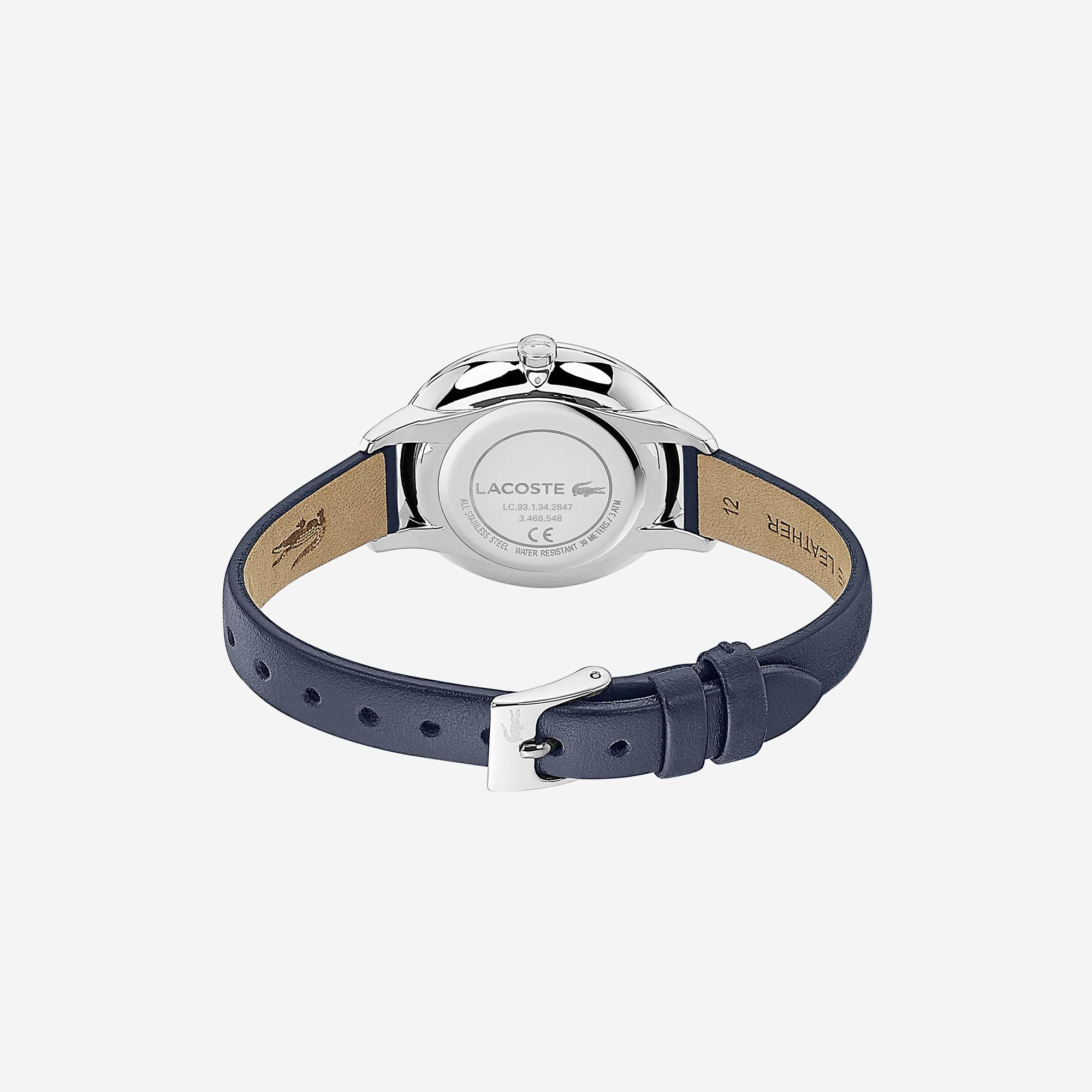 Ladies Cannes Watch with Blue Leather Strap