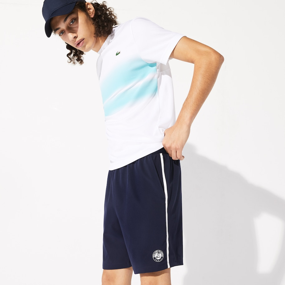 Men's Lacoste SPORT Roland Garros Breathable Shorts