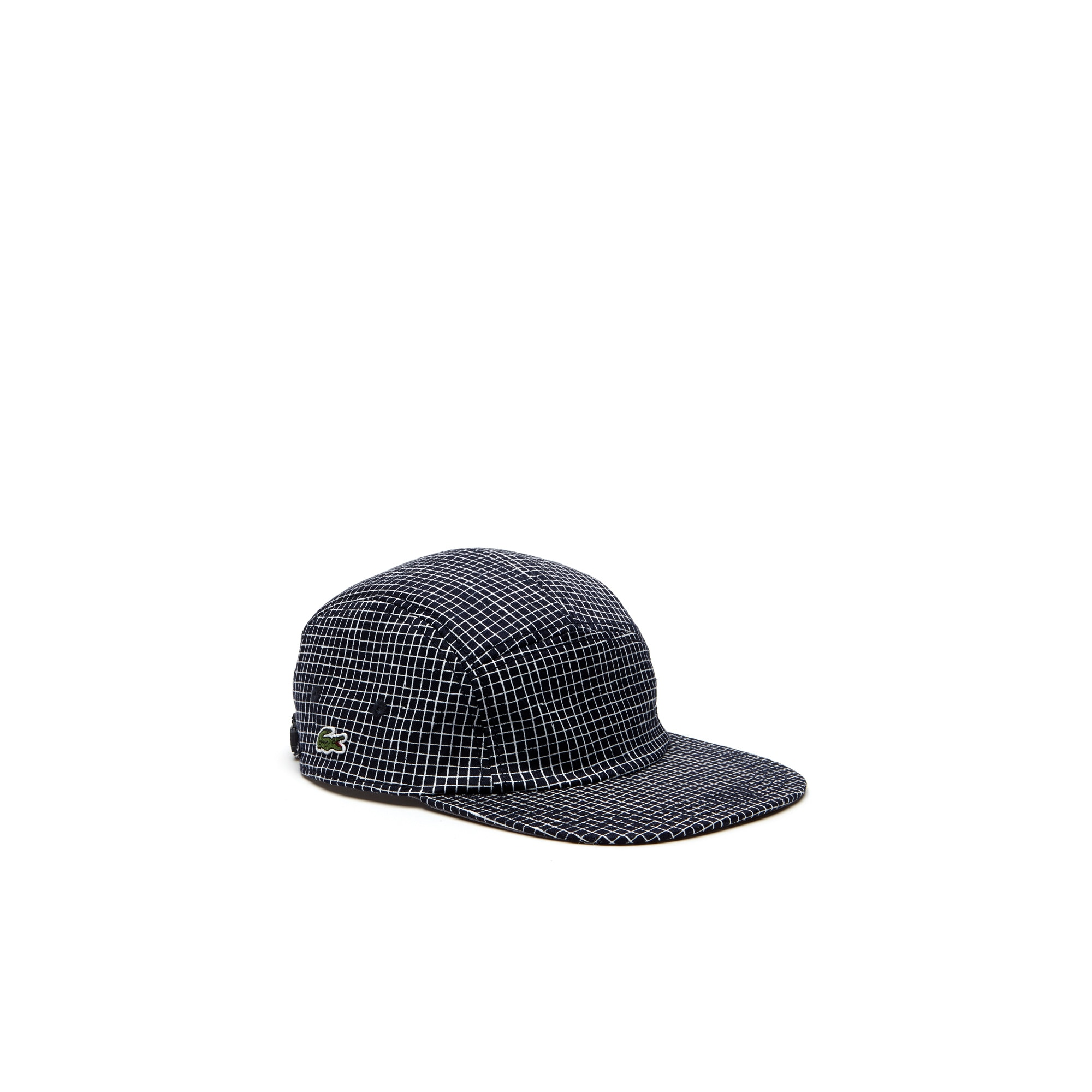 Men's Lacoste LIVE Mini Check Cotton Twill Cap