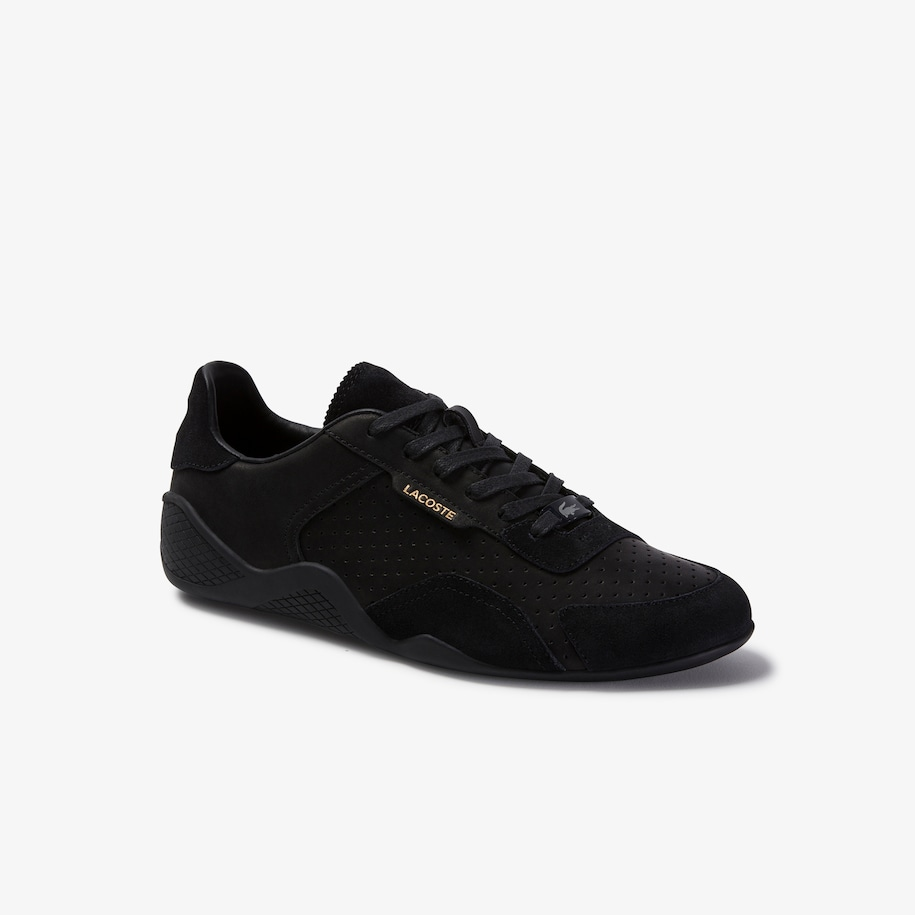 Women's Hapona Leather and Suede Trainers