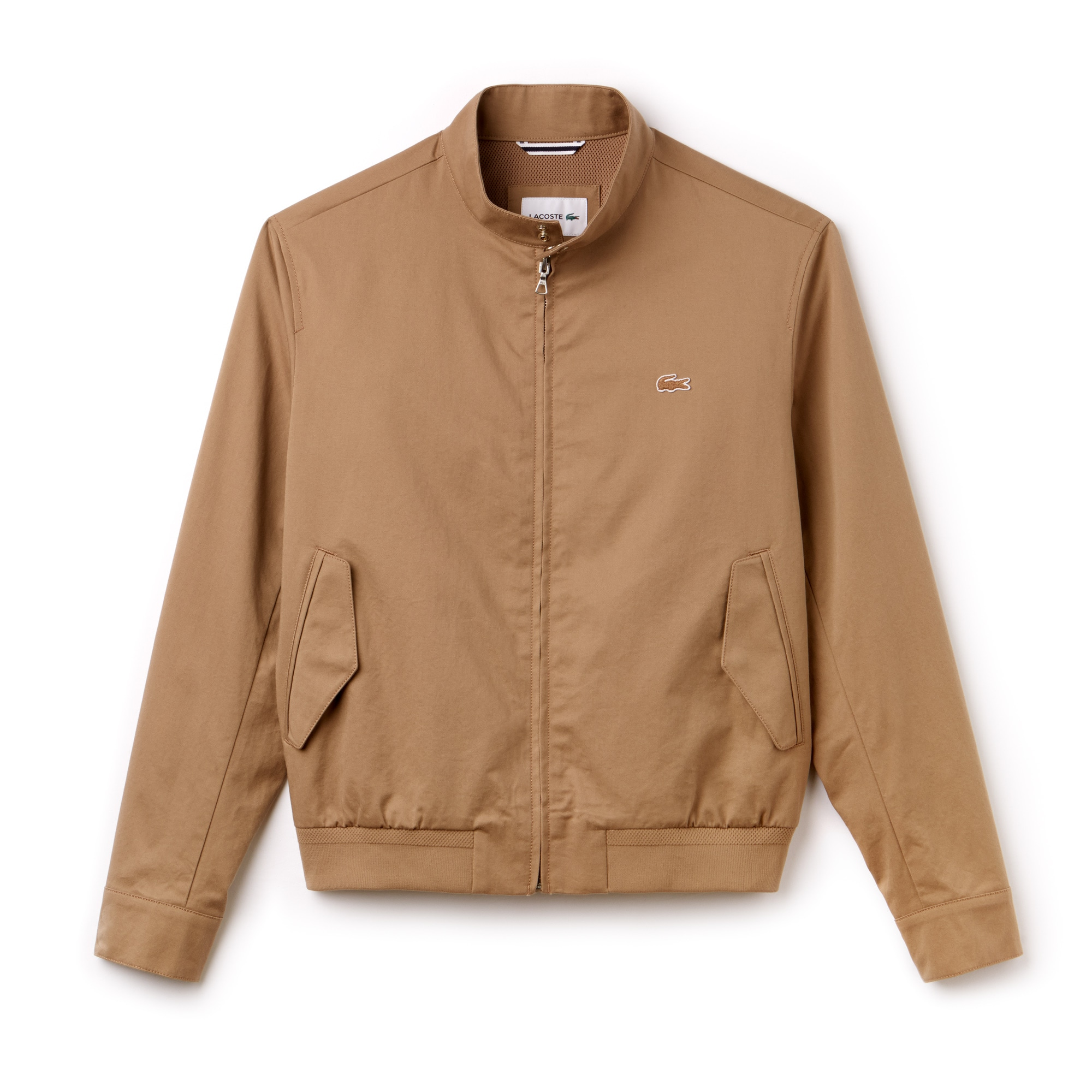 Men's Short Zip Cotton Twill Jacket