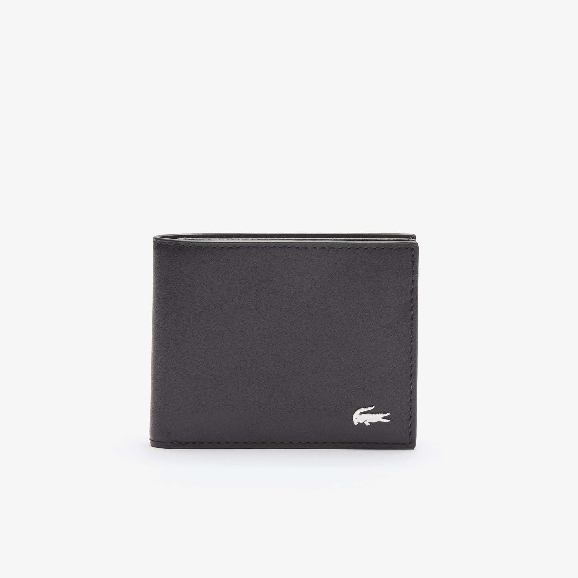 99c1f172ea3 Men's Fitzgerald billfold in leather with ID card holder | LACOSTE