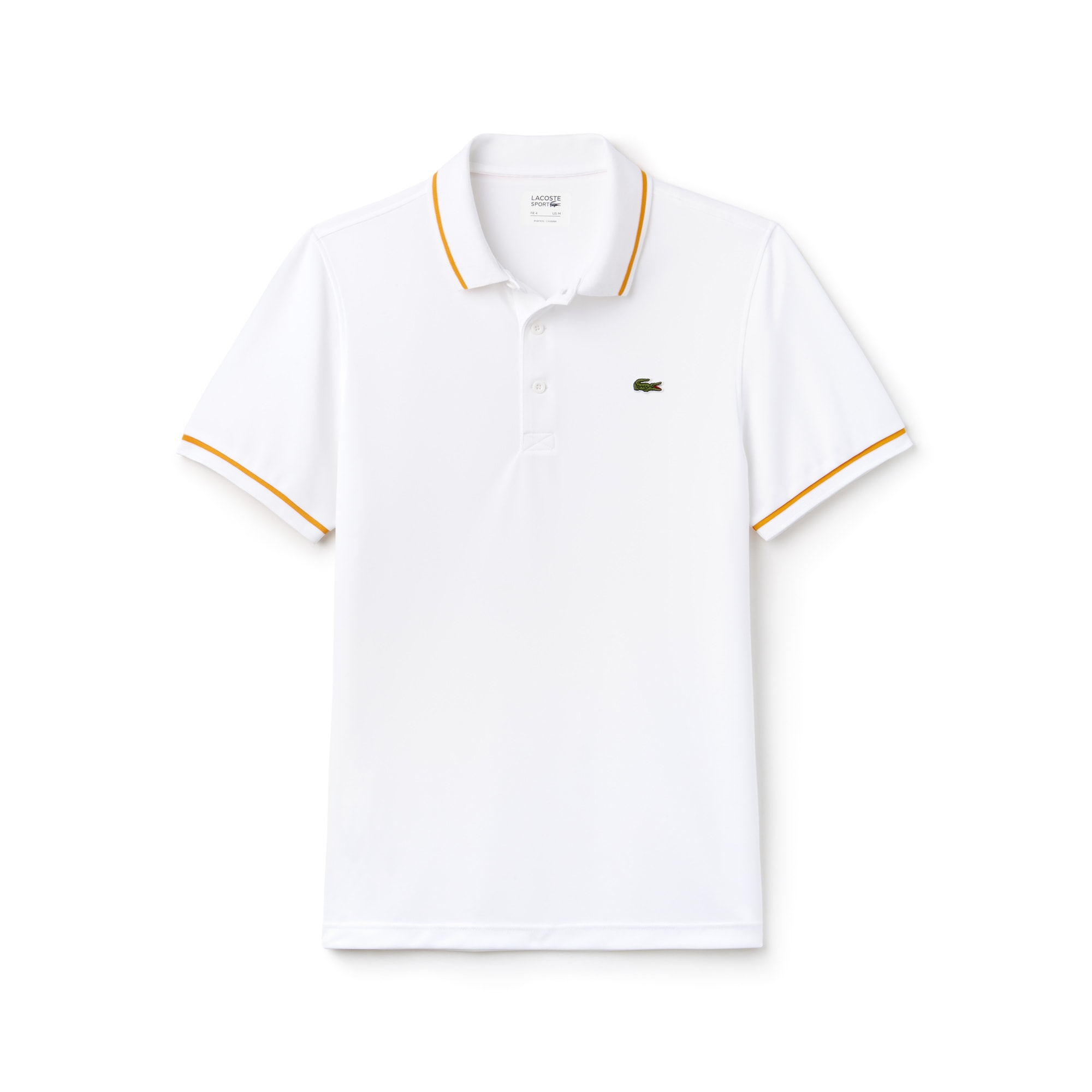 Men's Lacoste SPORT Tennis Piped Technical Piqué Polo Shirt
