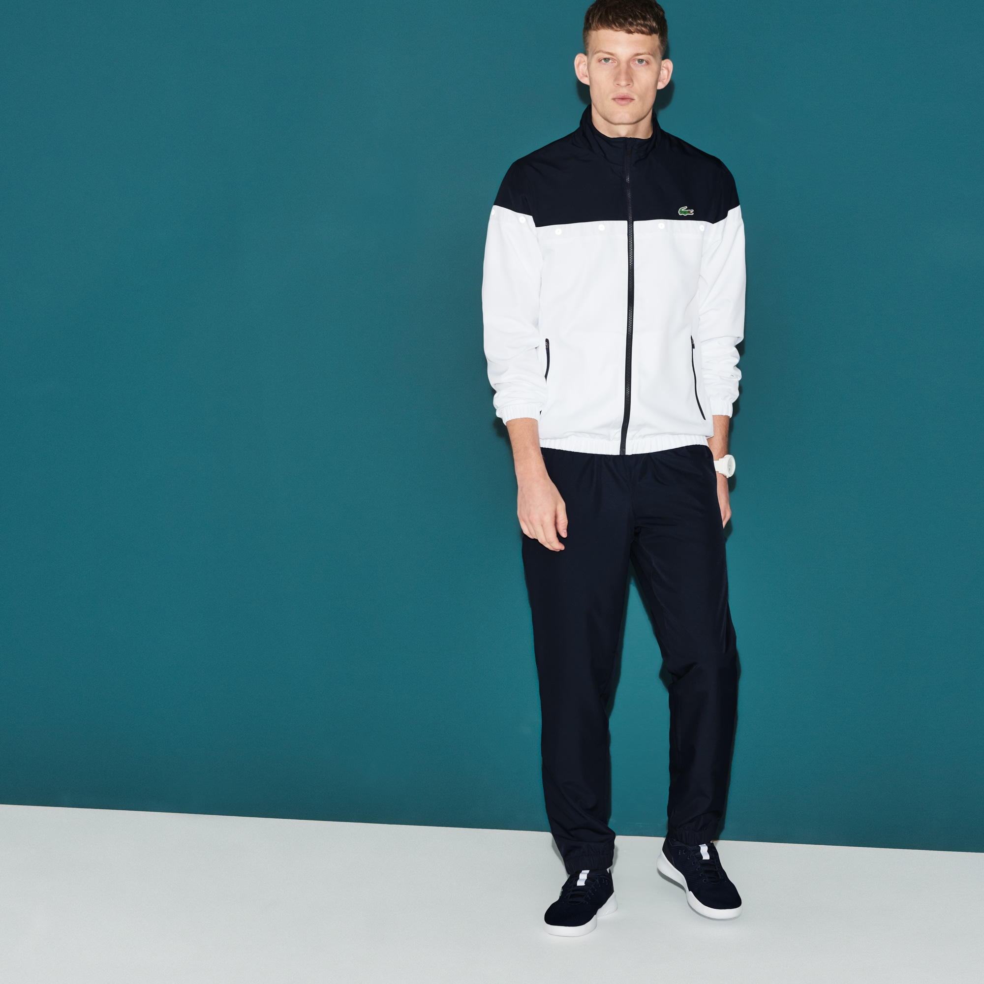 Men's Lacoste SPORT Colorblock Tennis Tracksuit
