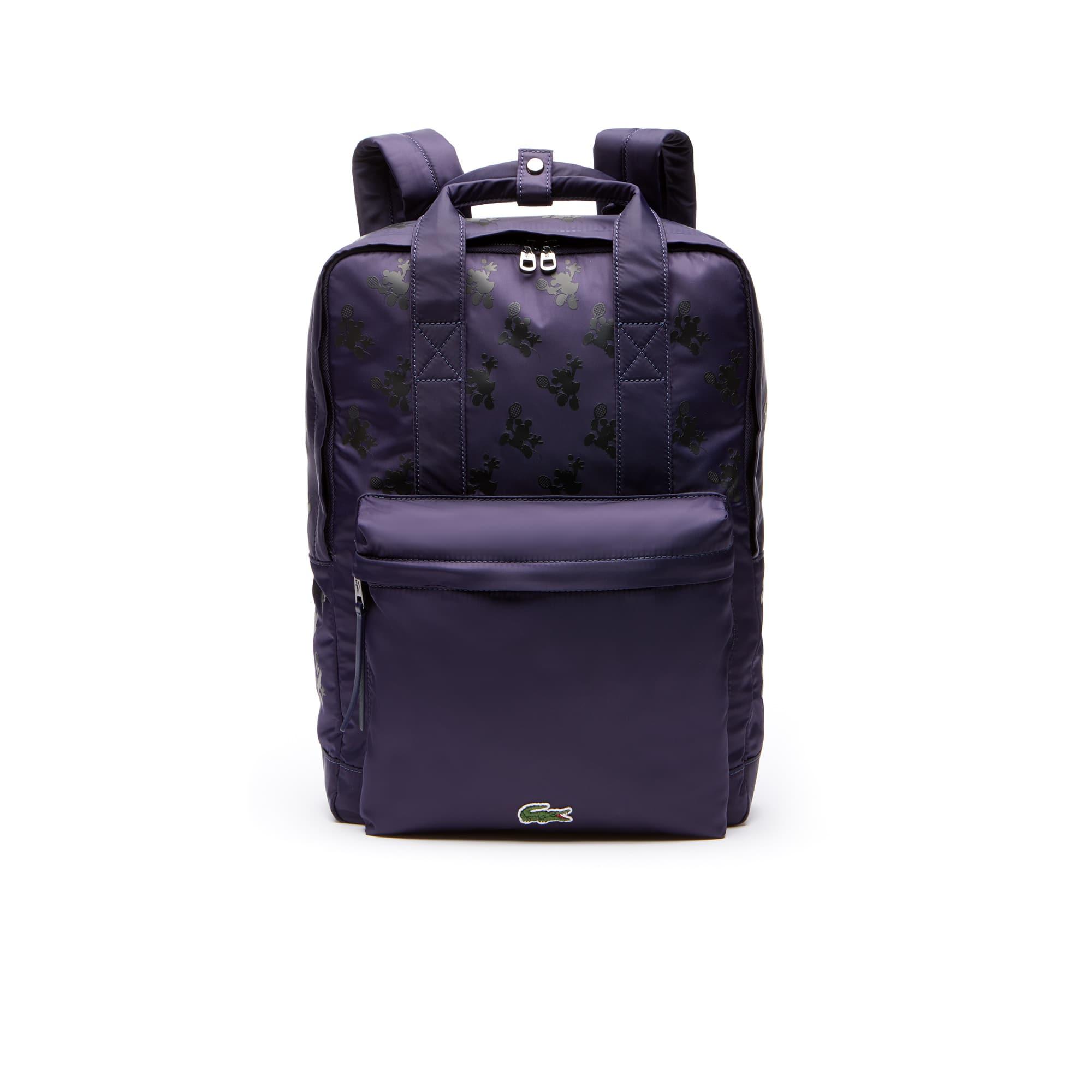 Men's Disney Holiday Collector Mickey Print Nylon Backpack