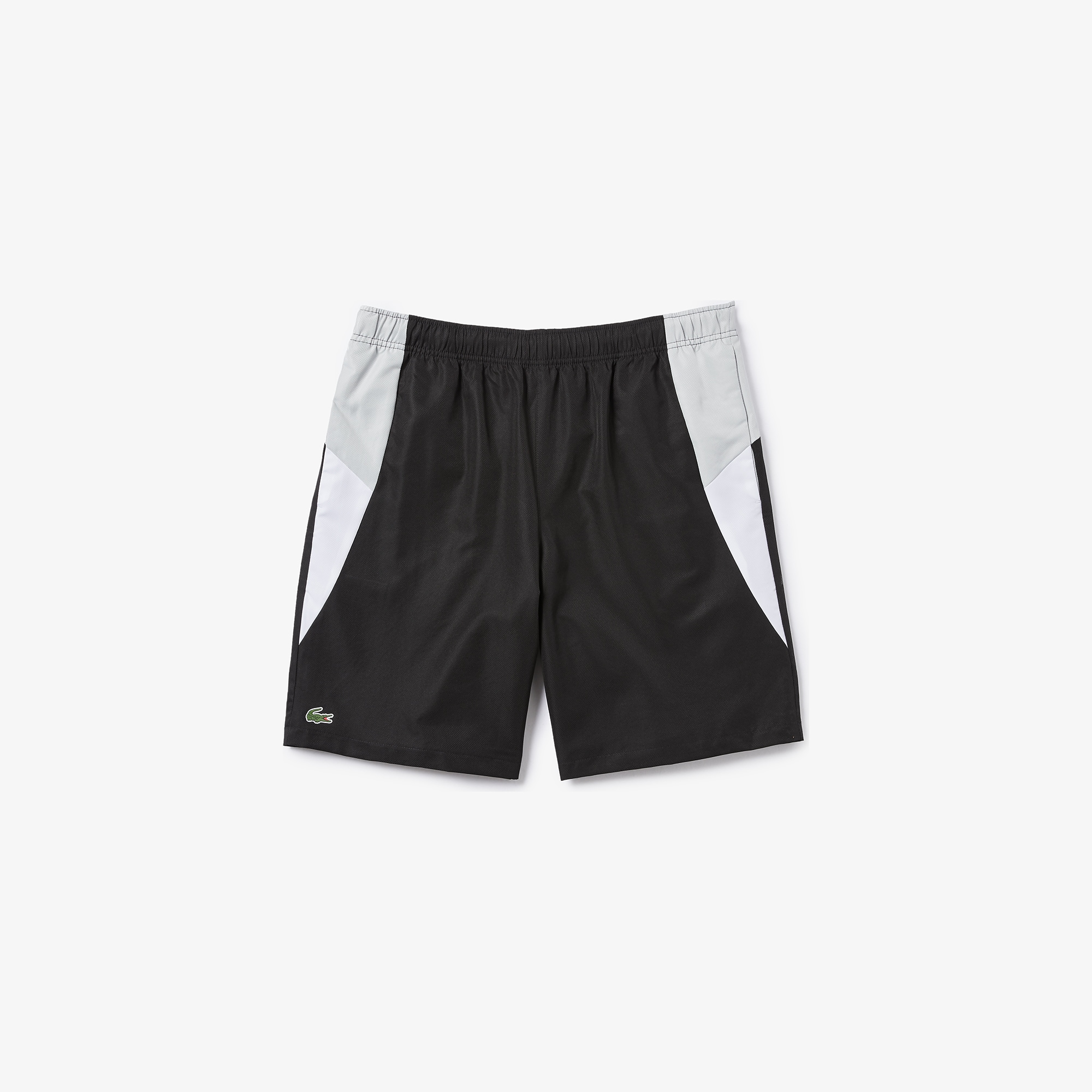 Men's Lacoste SPORT Colourblock Cut-Out Tennis Shorts