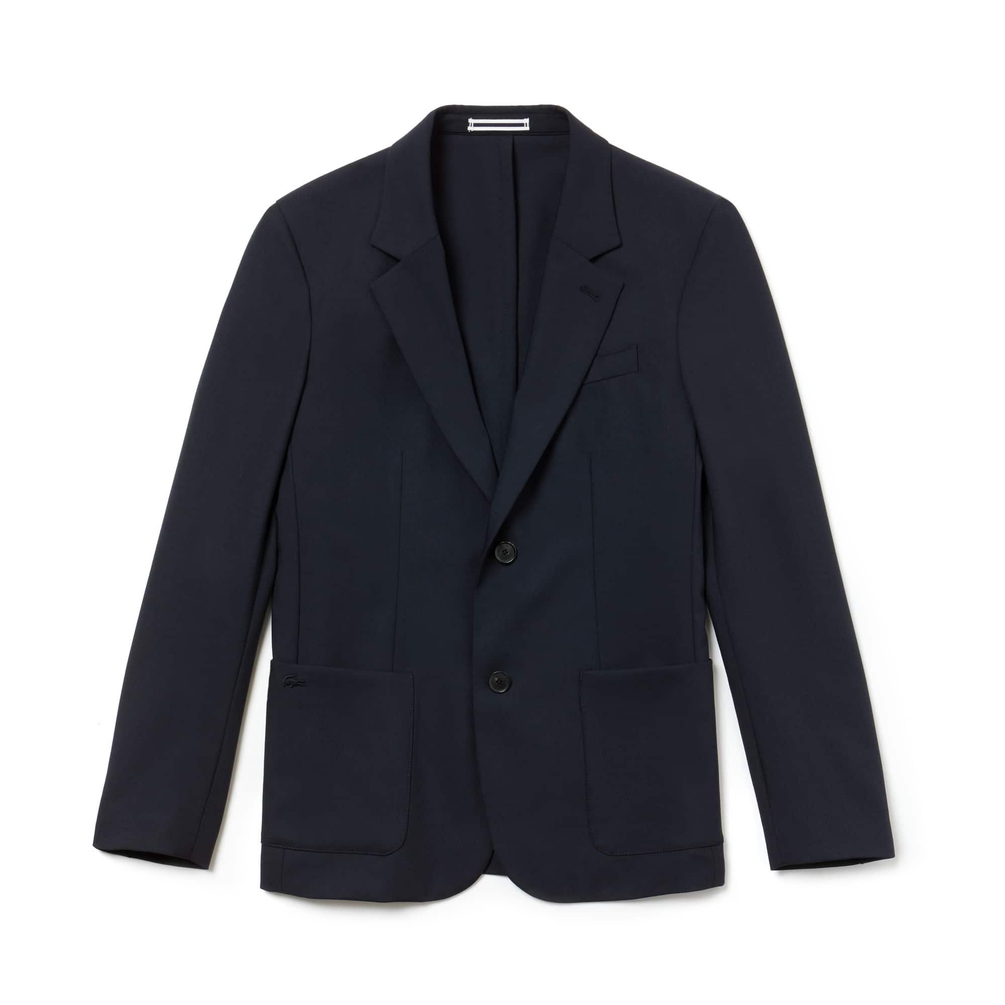 Men's Stretch Wool Twill Blazer