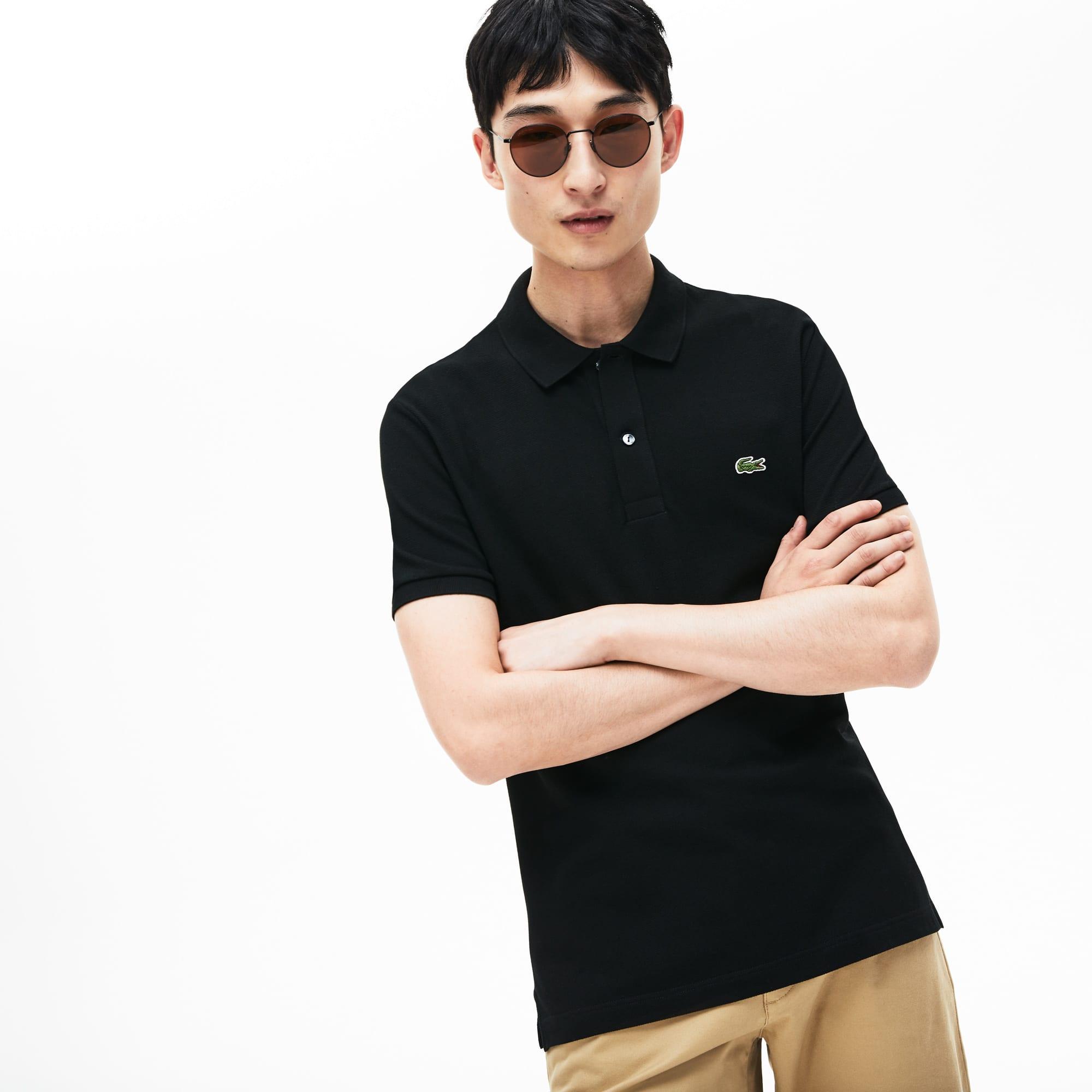 caee41640a8c7a Men's Slim fit Lacoste Polo Shirt in petit piqué | LACOSTE
