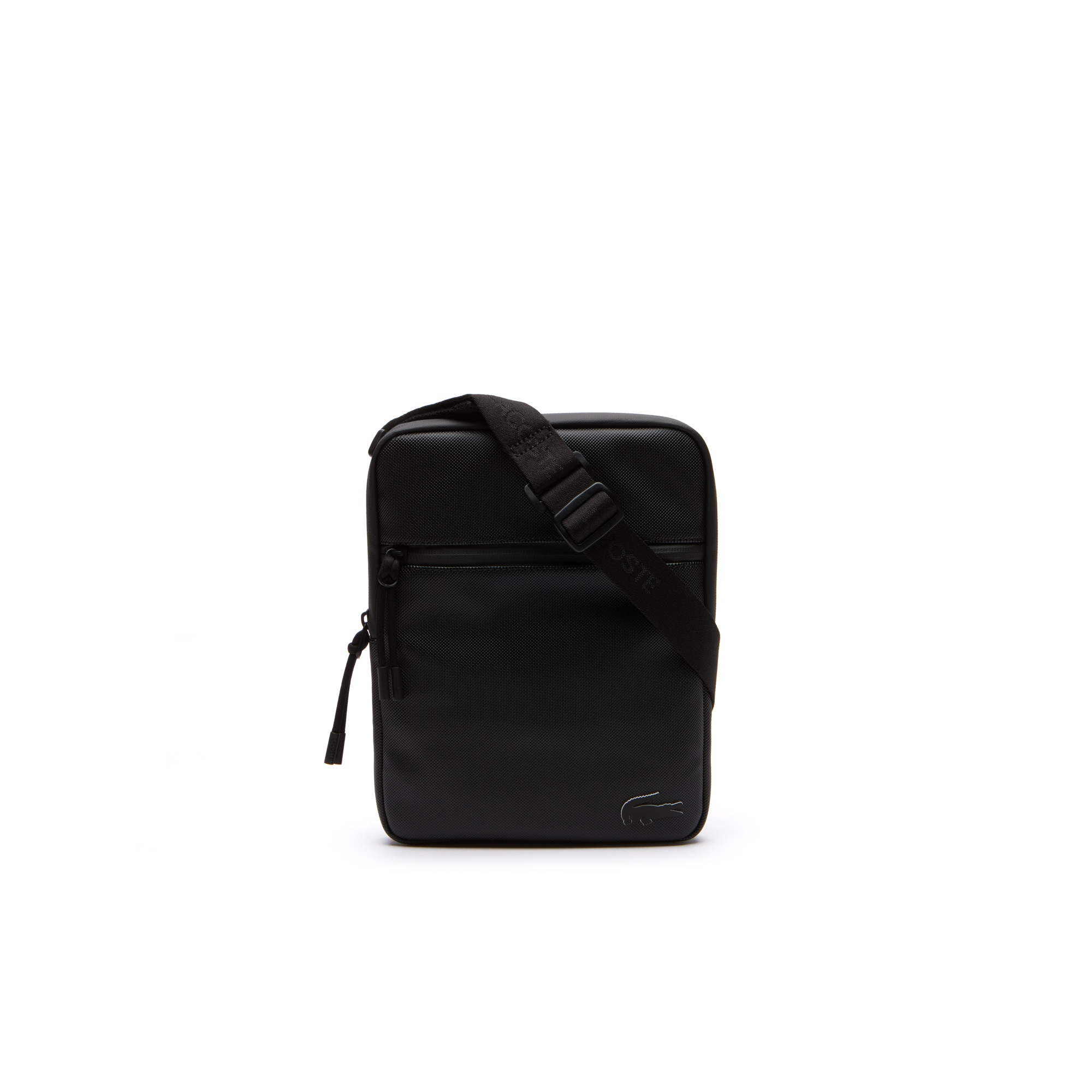 Men's L.12.12 Concept Monochrome Petit Piqué Flat Zip Bag