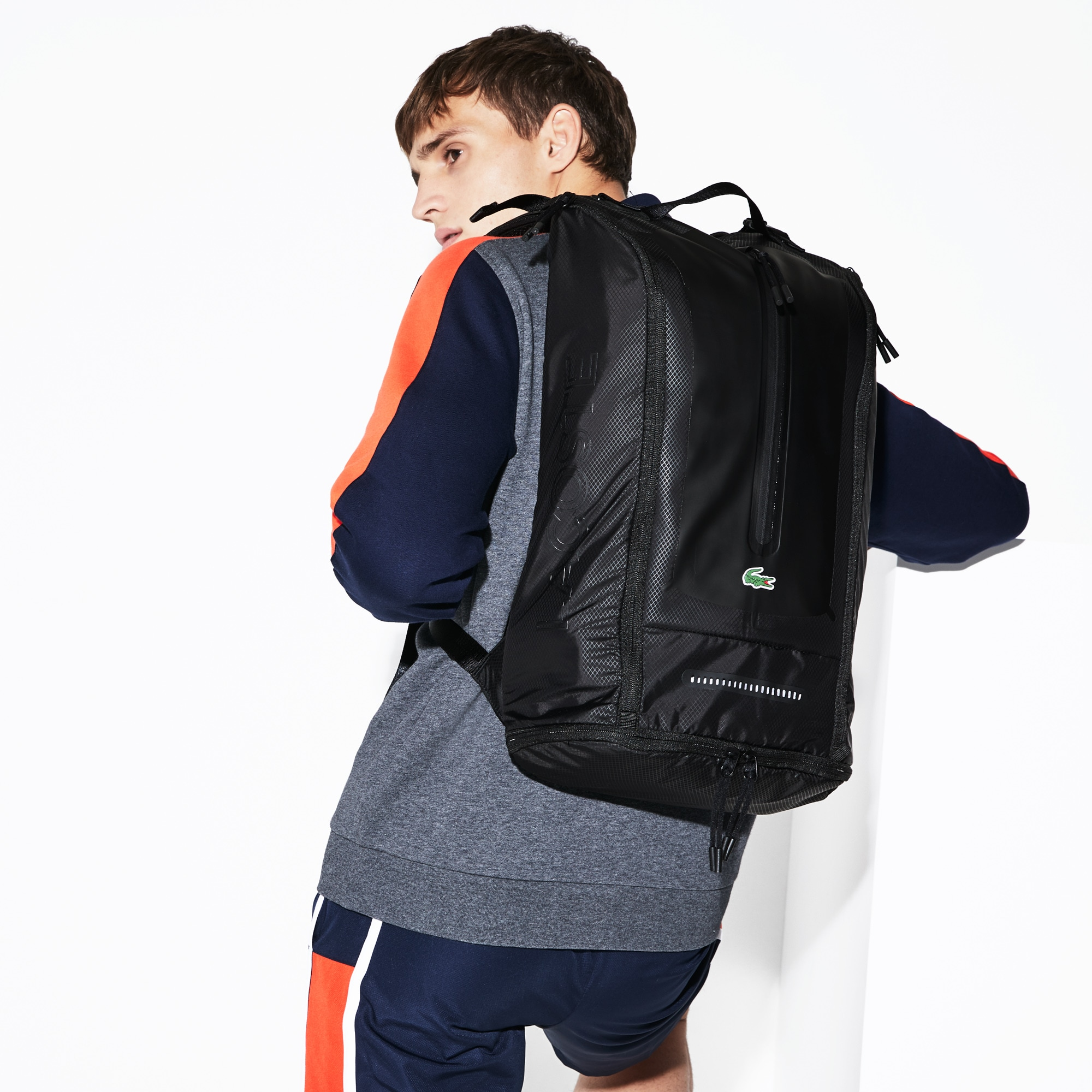 78a27c1fbd2 Men's Lacoste SPORT Match Point Nylon Backpack