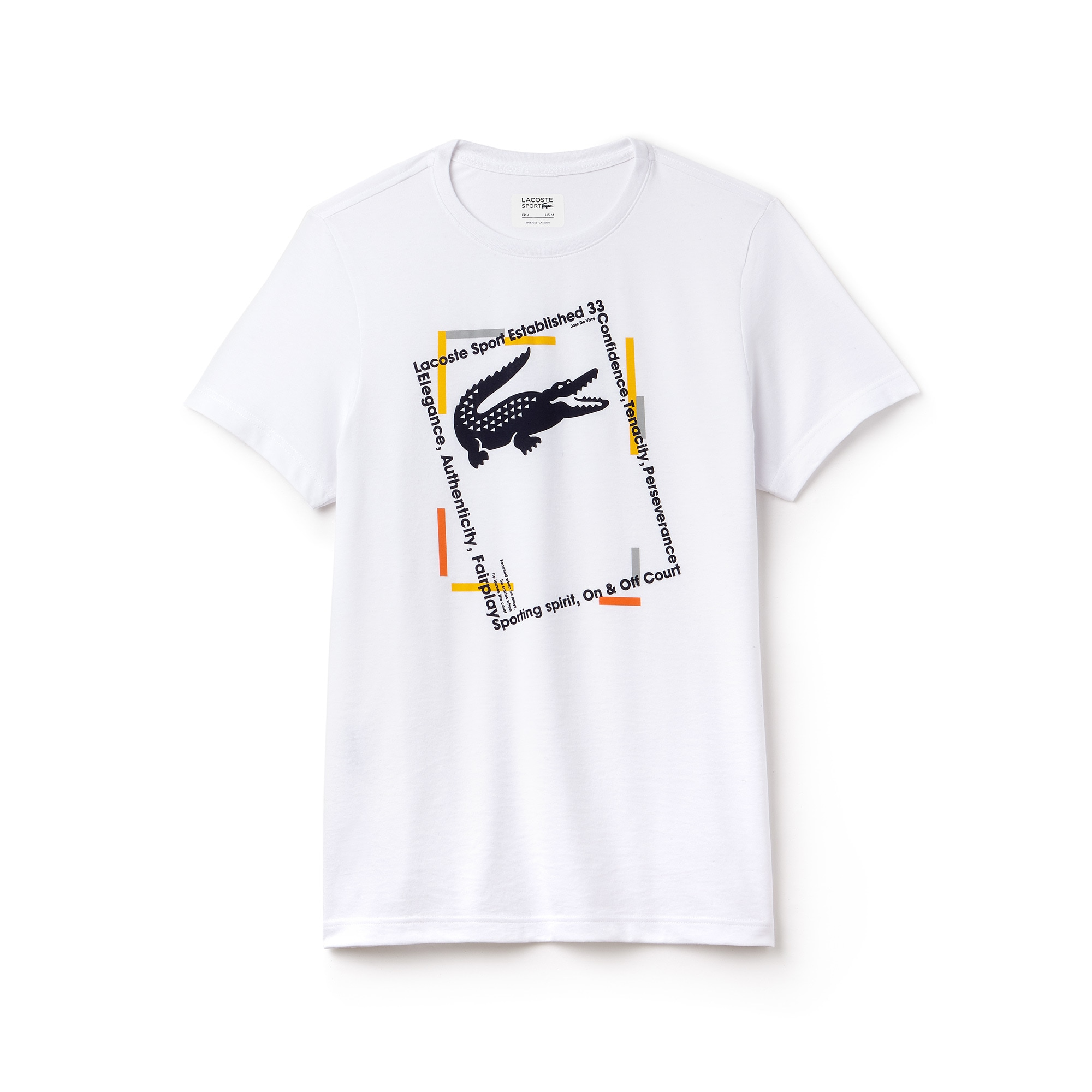 Men's Lacoste SPORT Logo Tech Jersey Tennis T-shirt
