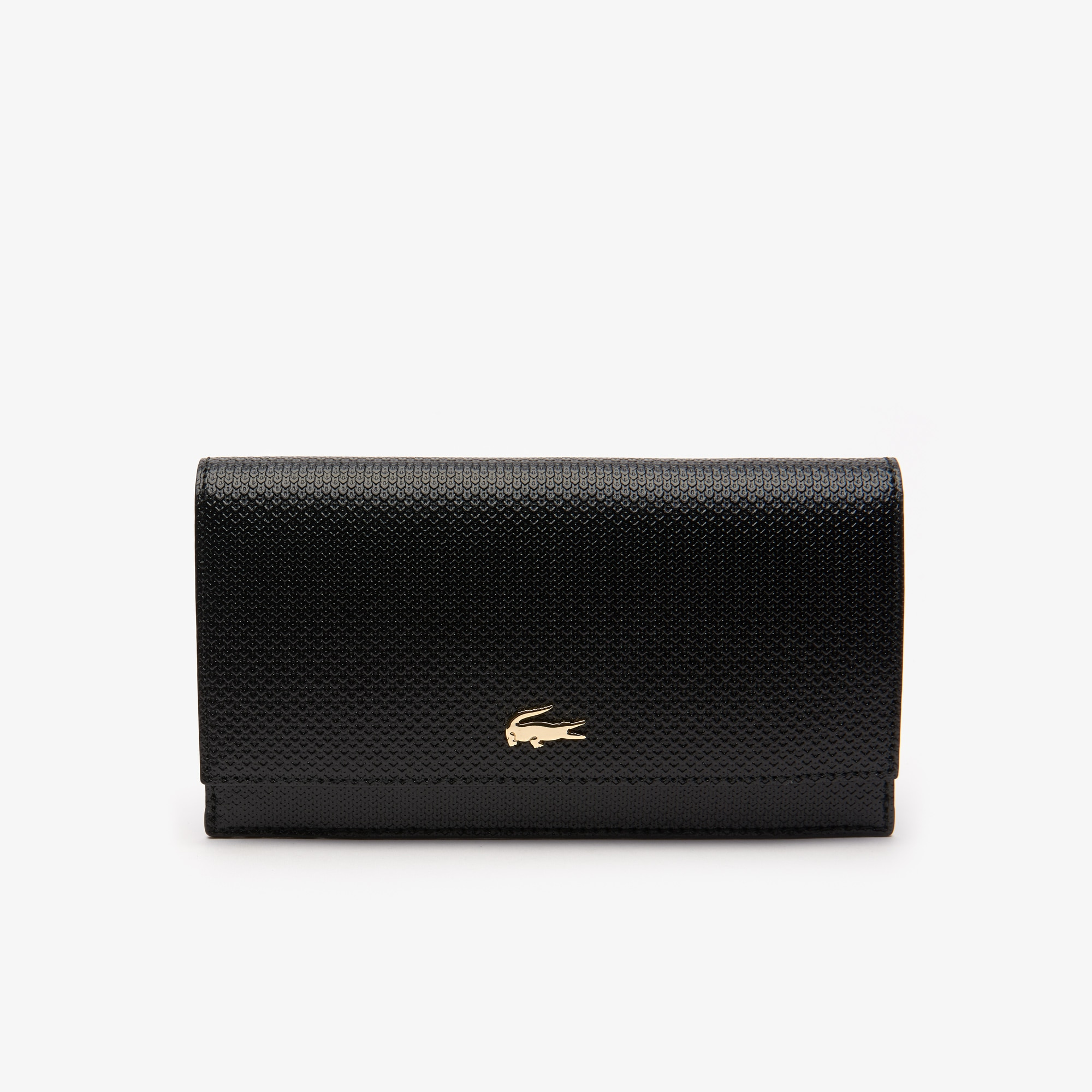 Women's Chantaco Bicolour Piqué Leather 6 Card Wallet