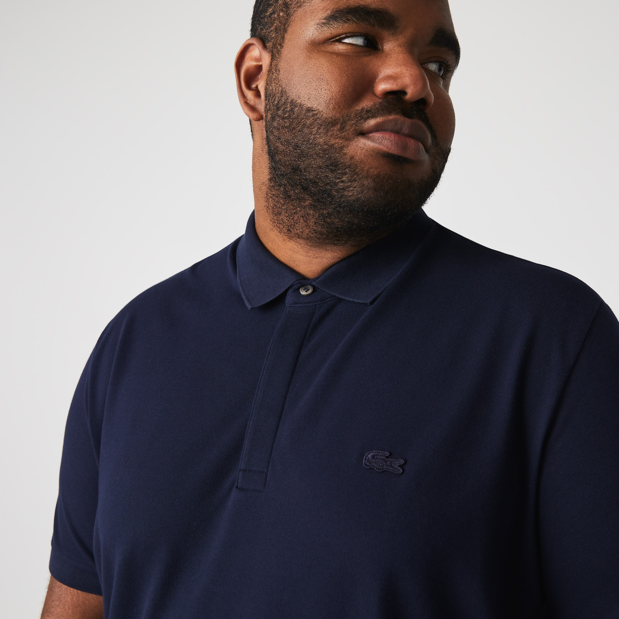 Men's Lacoste Paris Polo Shirt Regular Fit Stretch Cotton Piqué