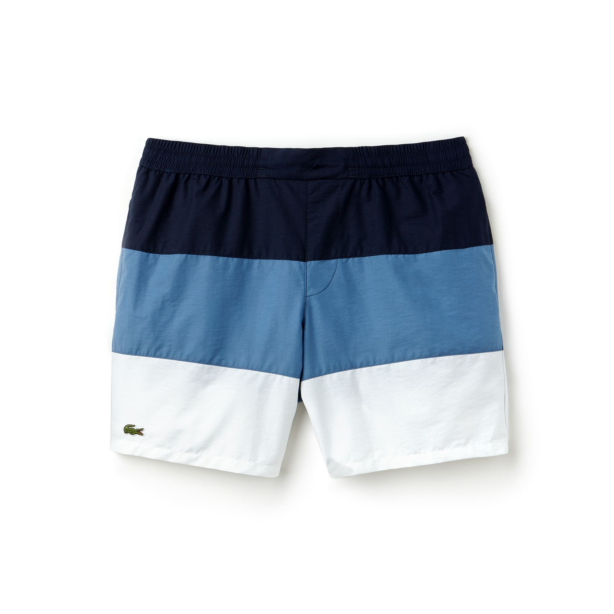 Men's Colorblock Taffeta Swimming Trunks