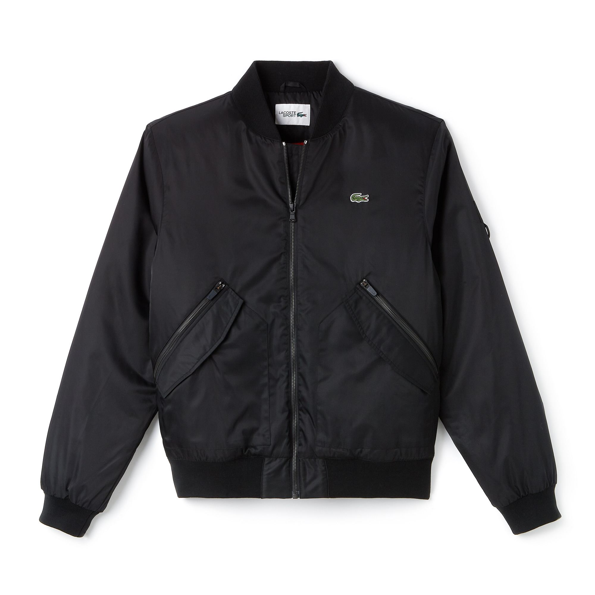 Men's Lacoste SPORT Water-Resistant Twill Technical Tennis Bomber
