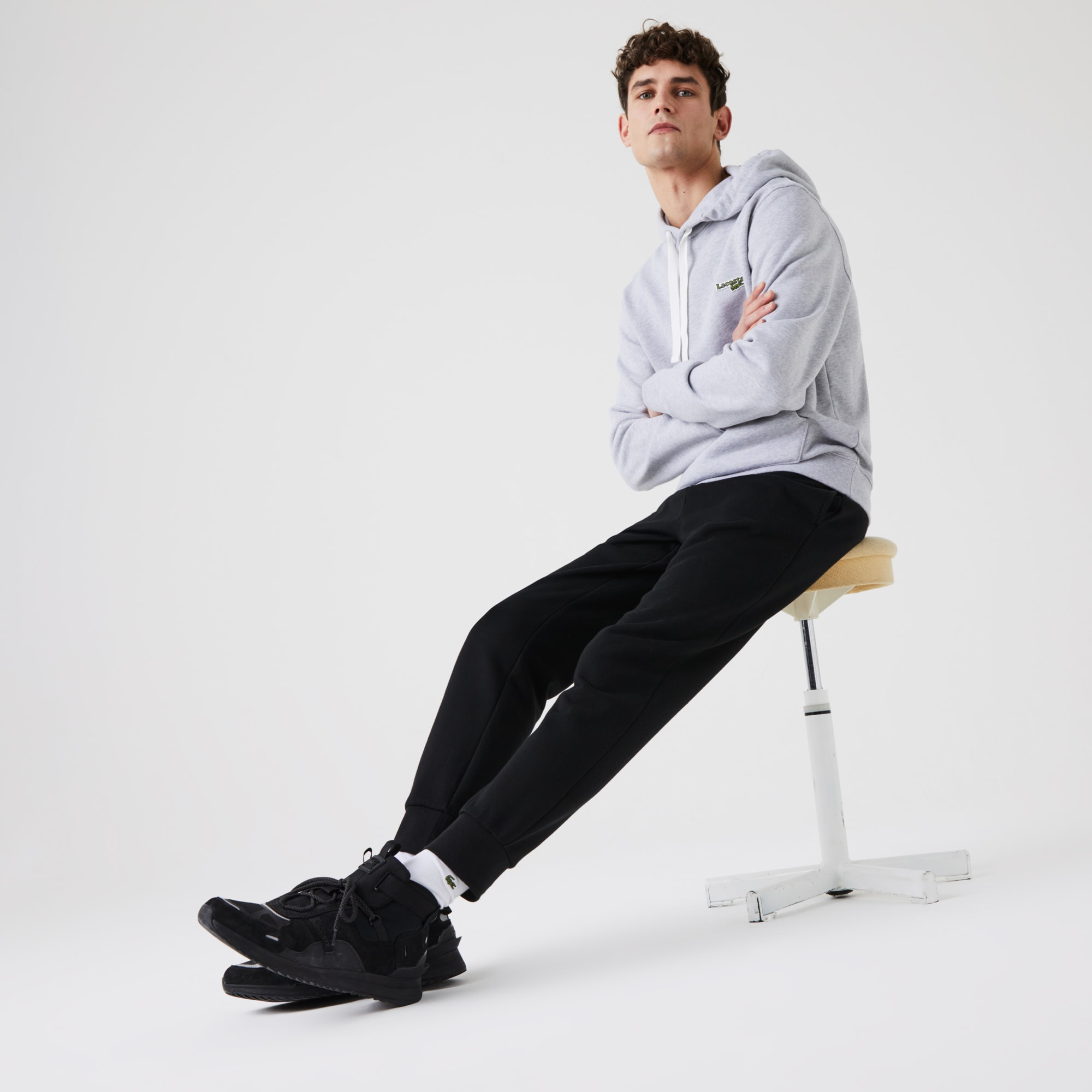 Men's Lacoste SPORT Cotton Fleece Tennis Sweatpants