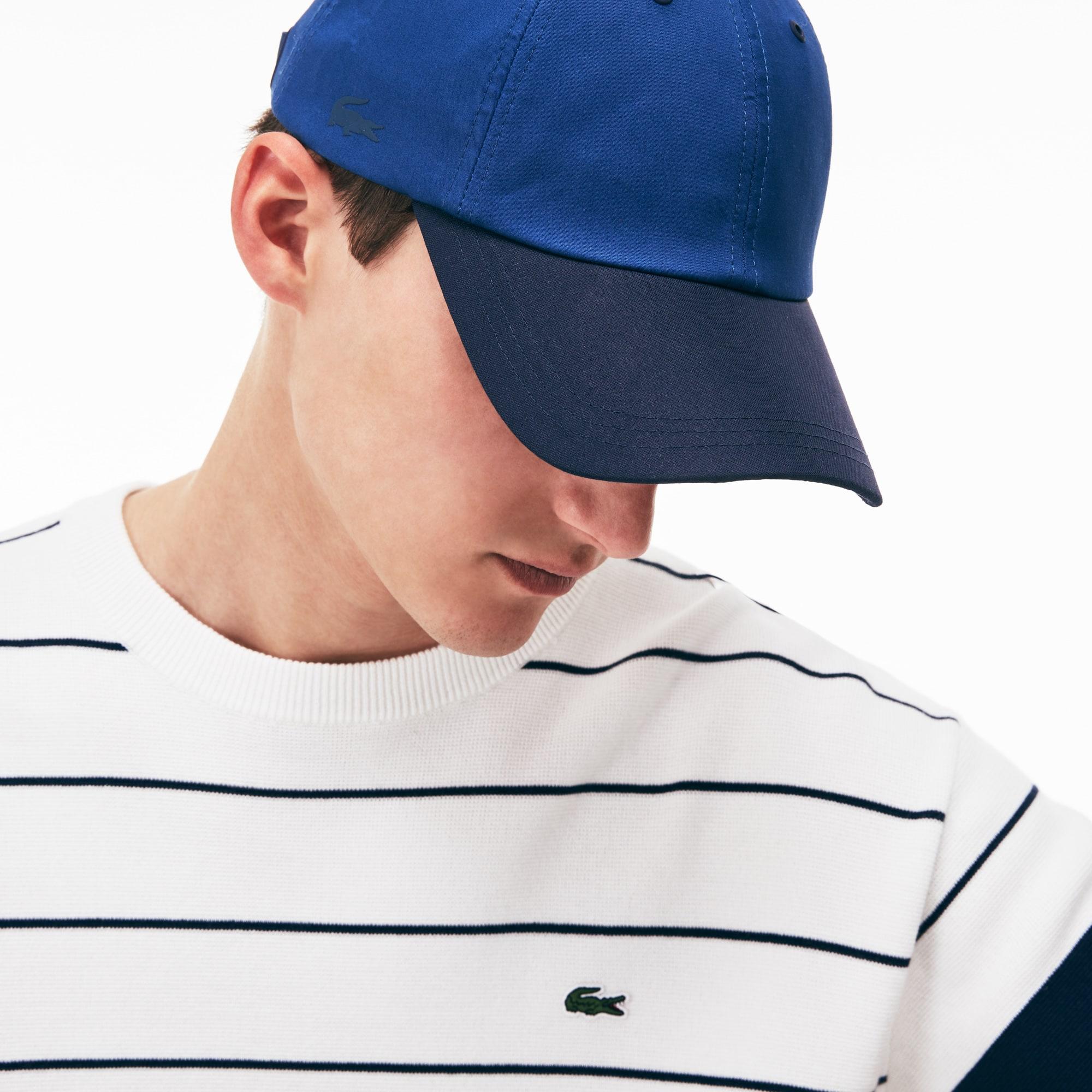 Men's Contrast Visor Stretch Twill Cap
