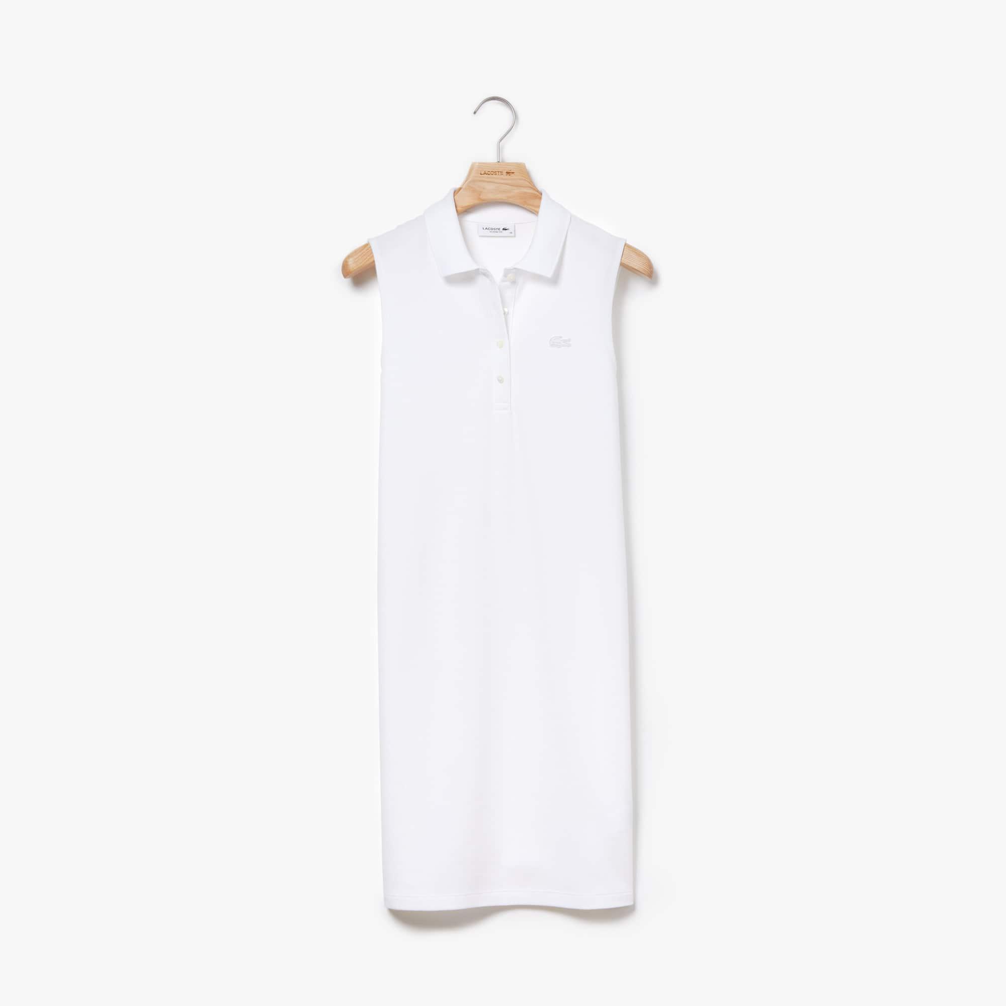 Women's Micro Piqué Polo Dress