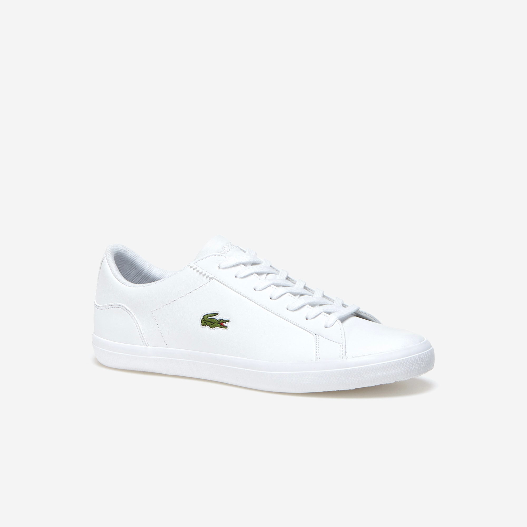 Men's Lerond Leather Trainers   LACOSTE