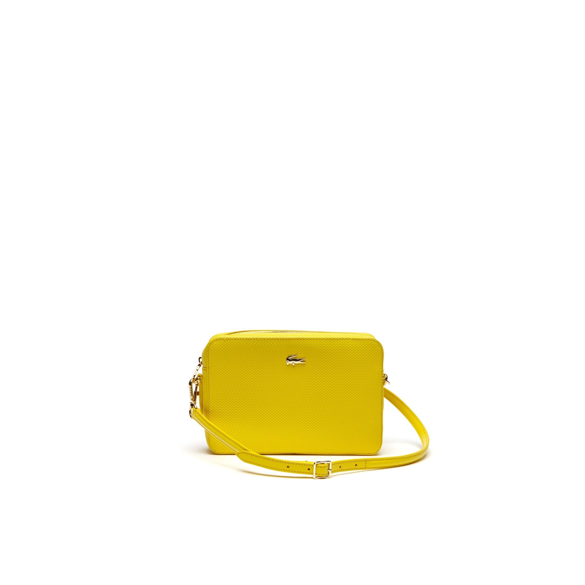 Women's Chantaco Piqué Leather Square Crossover Bag