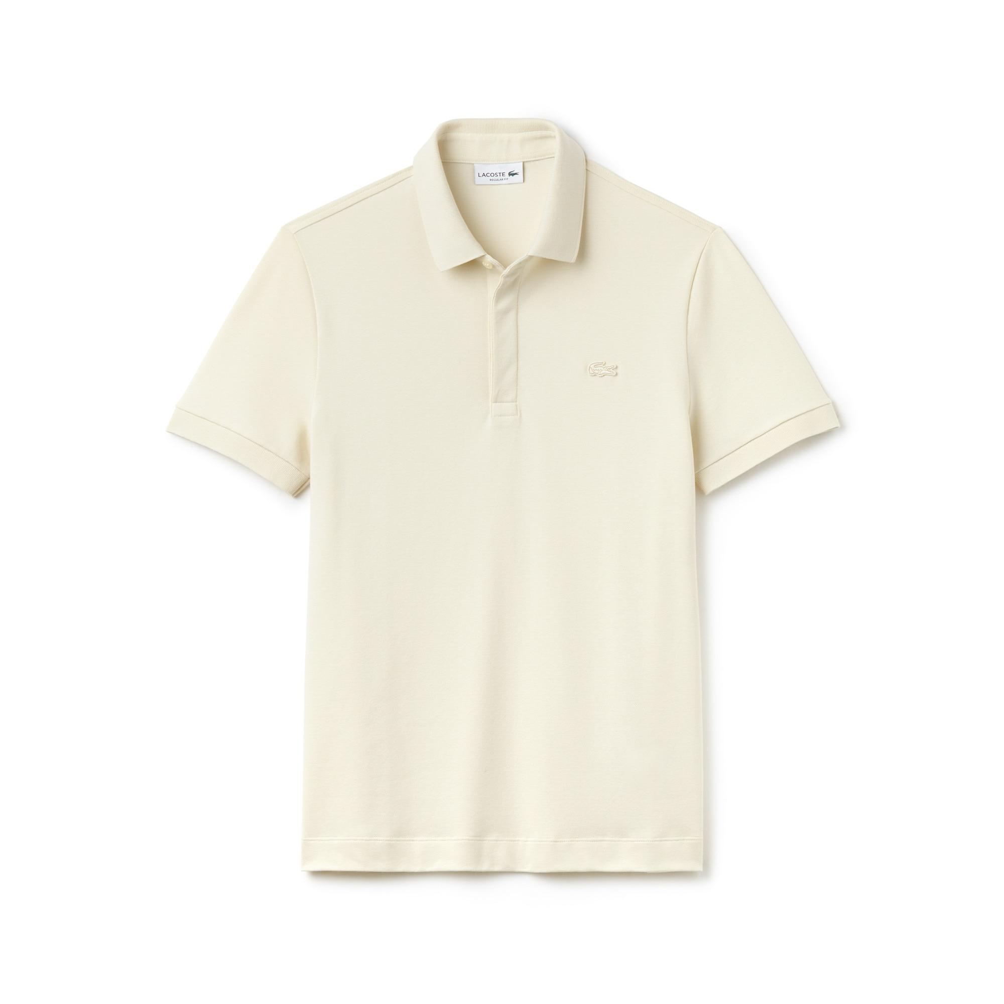 Men's Lacoste Paris Polo Regular Fit Stretch Cotton Piqué