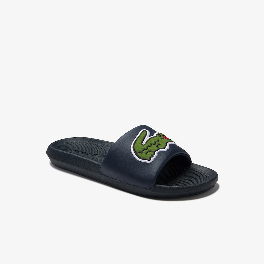 Men's Croco Synthetic and PU Slides