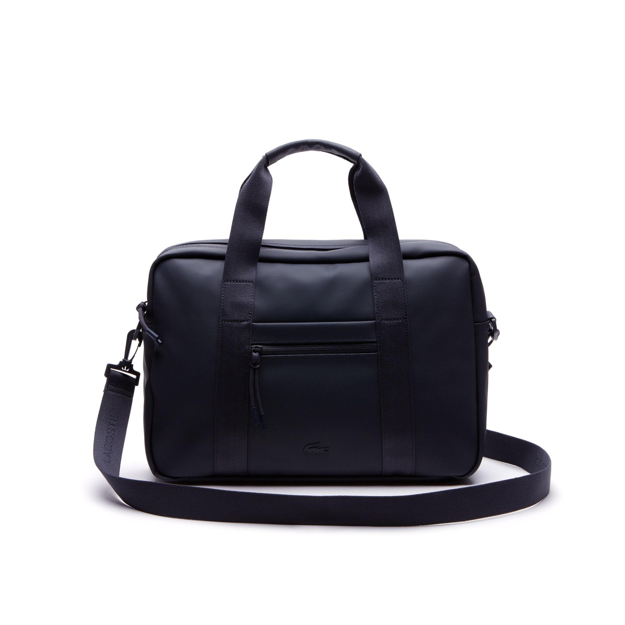 Men's L.12.12 Concept Petit Piqué Computer Bag