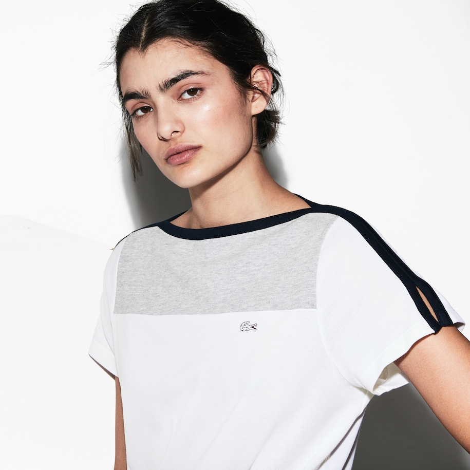 Women's Lacoste SPORT French Open Edition Cotton T-shirt
