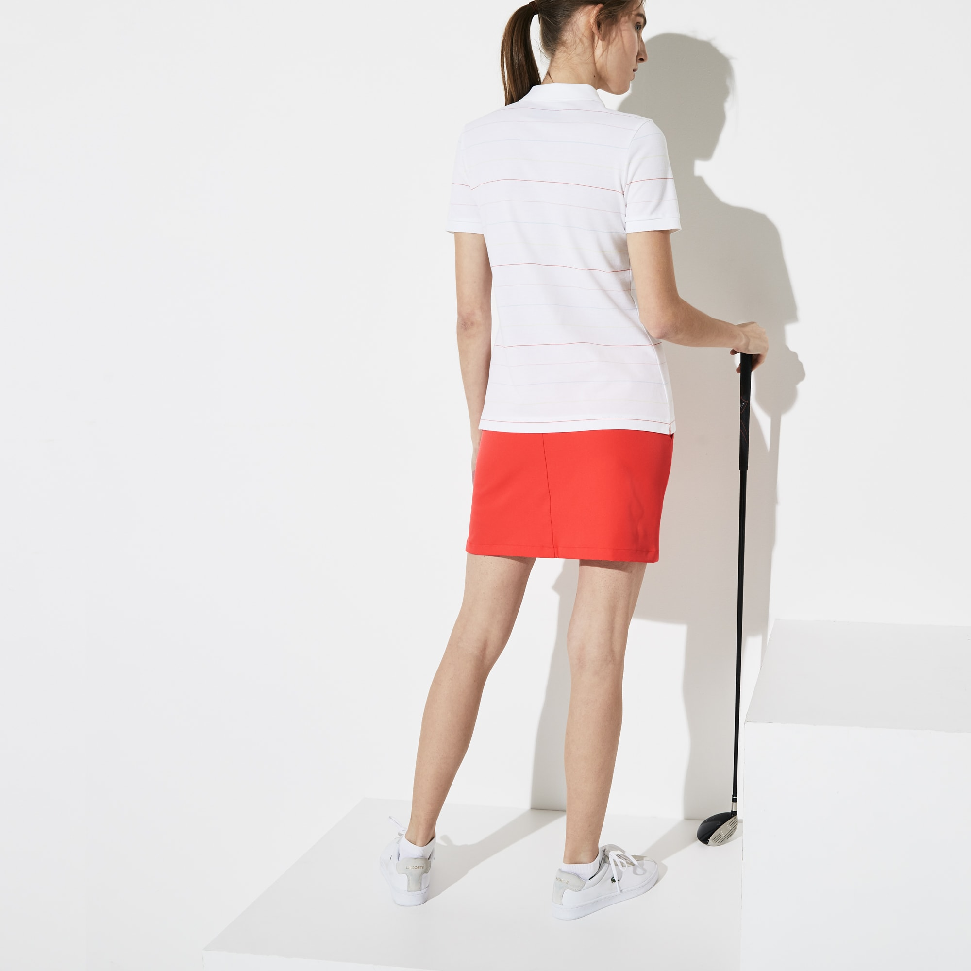 Women's Lacoste SPORT Technical Gabardine Golf Skirt