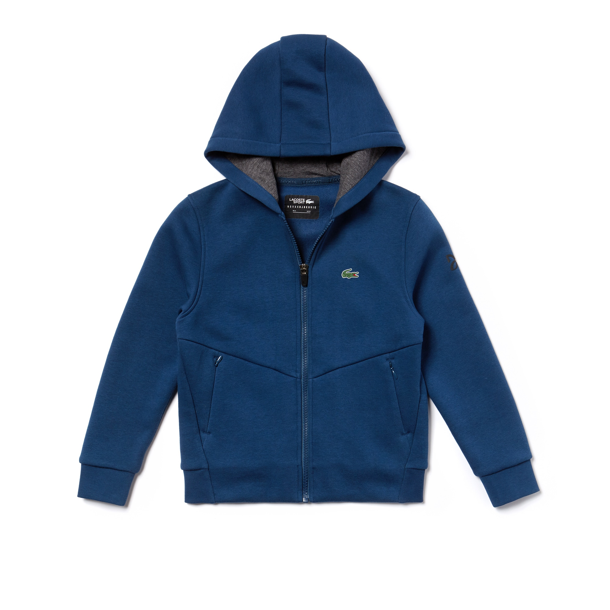 Boys' Lacoste SPORT NOVAK DJOKOVIC-OFF COURT COLLECTION Zip...