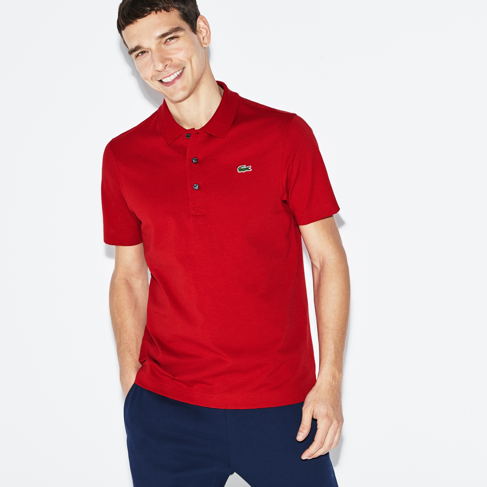 Men's Lacoste SPORT Tennis regular fit Polo Shirt in ultra-lightweight knit