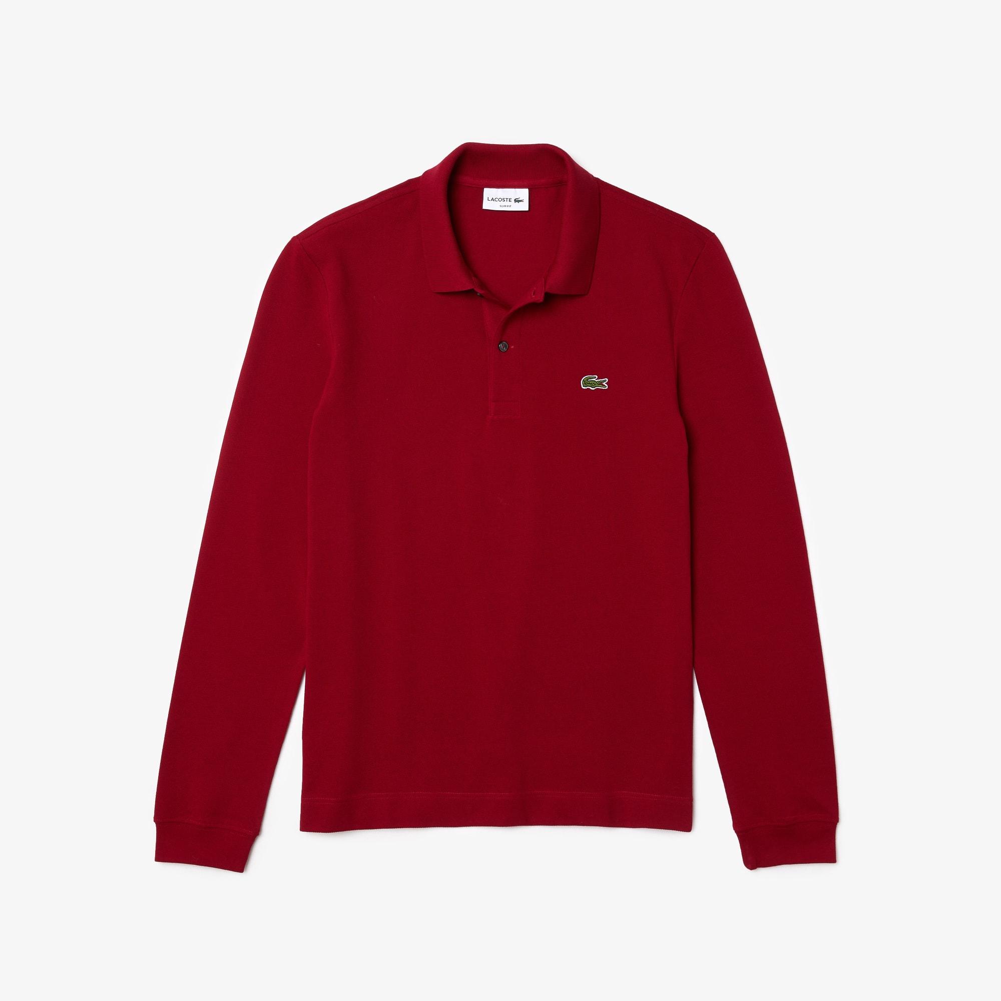 Men's Lacoste Slim Fit Petit Piqué Polo Shirt