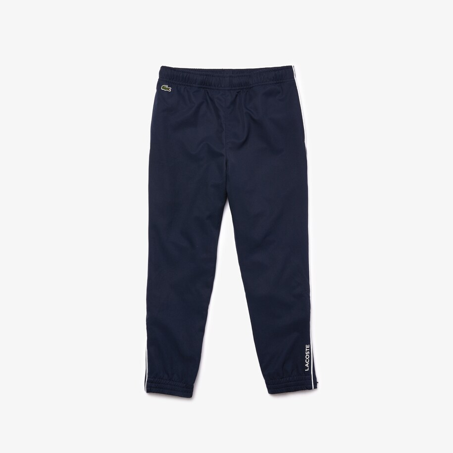 Boys' Lacoste SPORT Piped Lightweight Trackpants