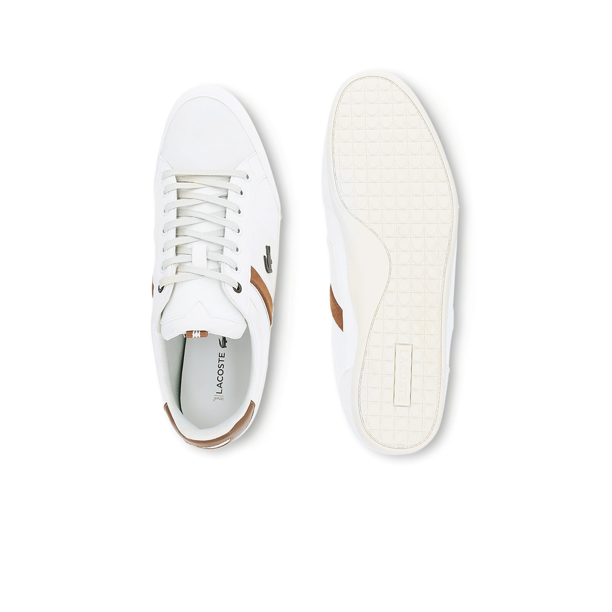 e91727cf06 Men's Chaymon Embossed Leather Trainers