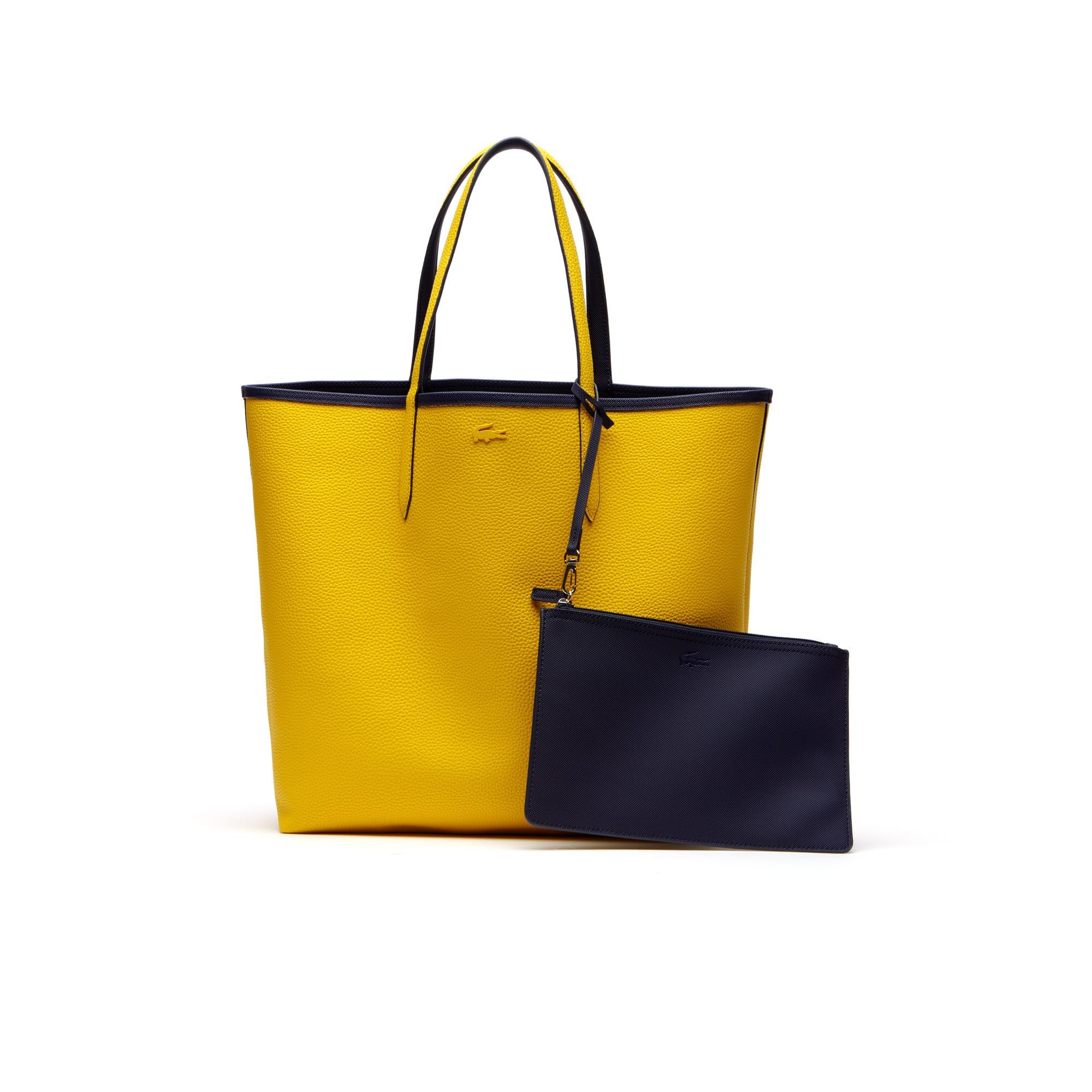 Women's Anna Large Reversible Bicolor Tote Bag