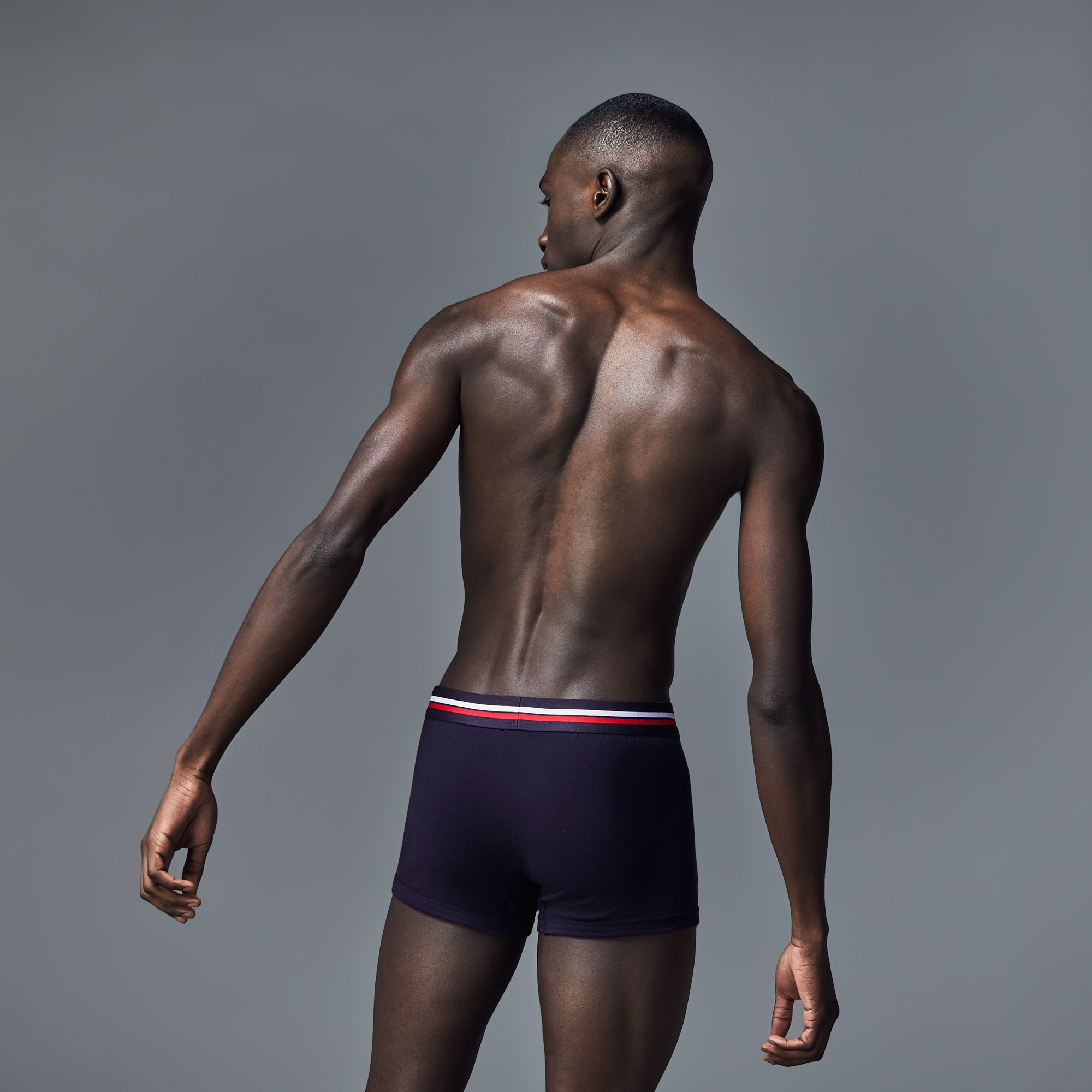 Pack of 3 Colours boxer briefs with nautical stripe