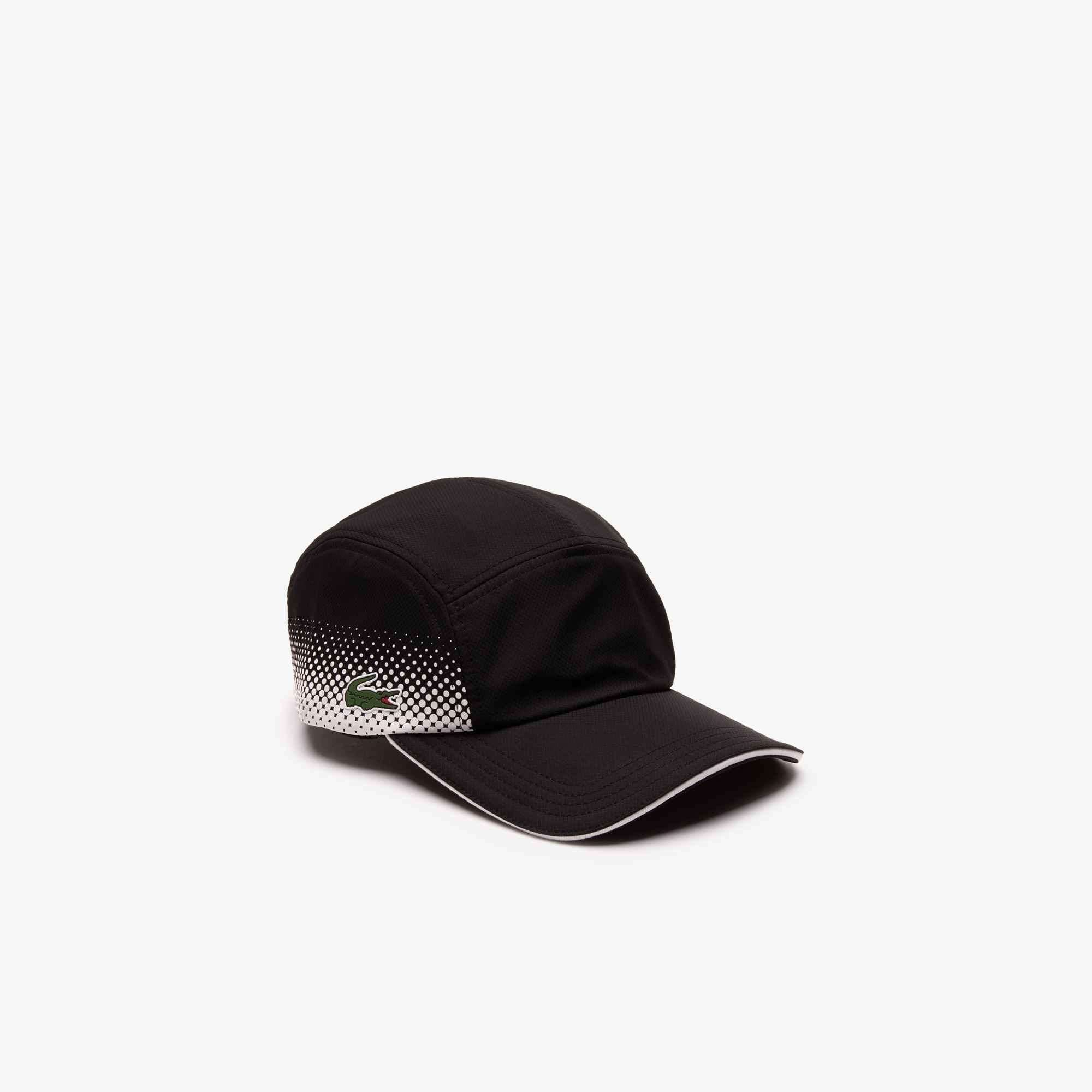 0b825d94b40 Men s Lacoste SPORT Shaded Print And Contrast Piping Tennis Cap