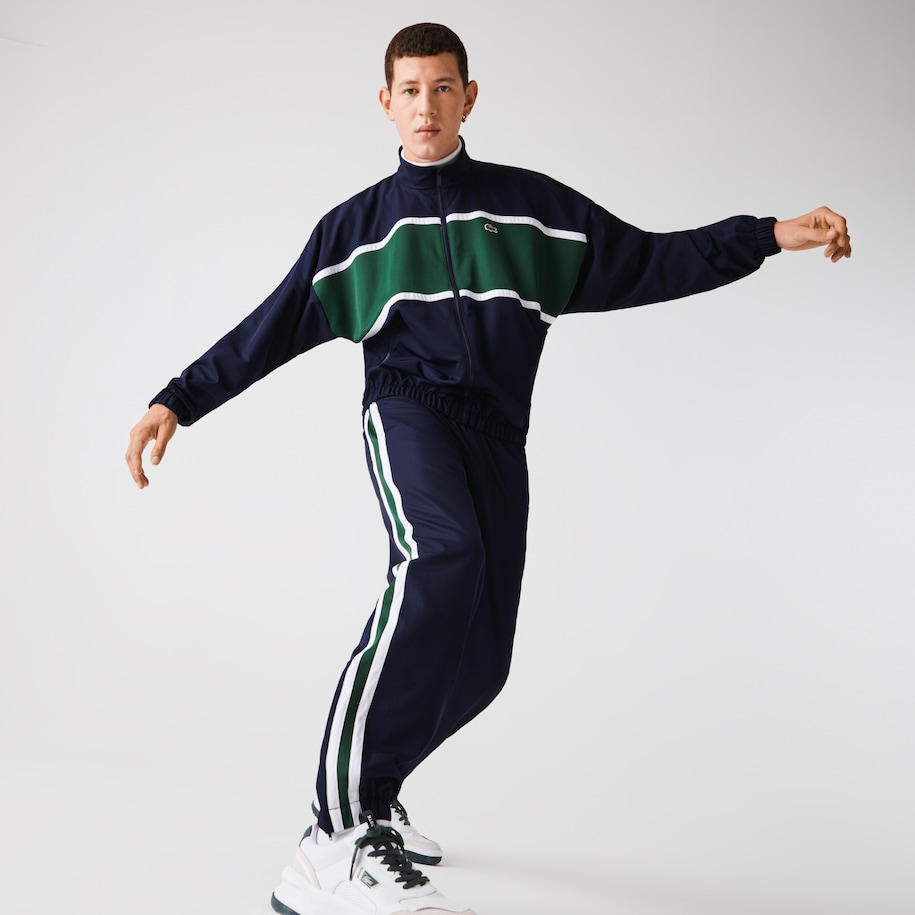 Men's Lacoste SPORT Loose Colourblock Tracksuit