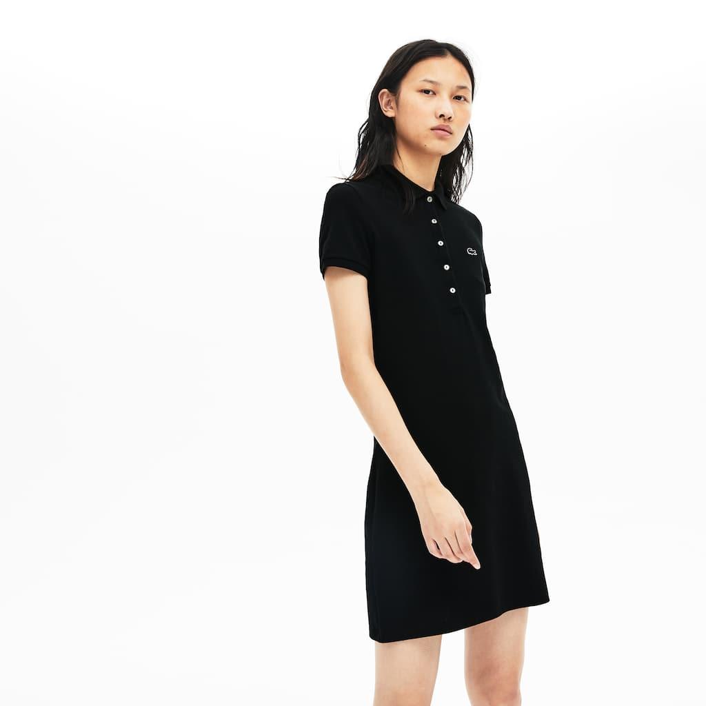 a5bcf0e41739e9 Women s Stretch Cotton Mini Piqué Polo Dress