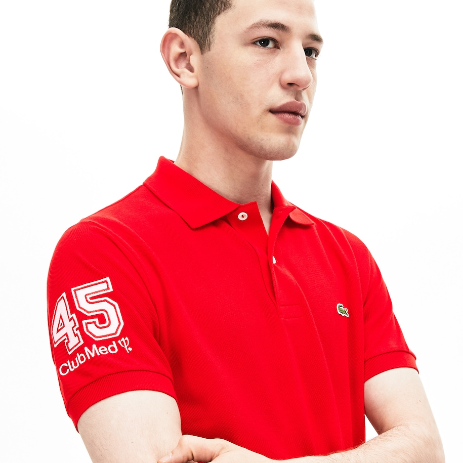 Men's Lacoste Regular Fit Club Med Polo Shirt
