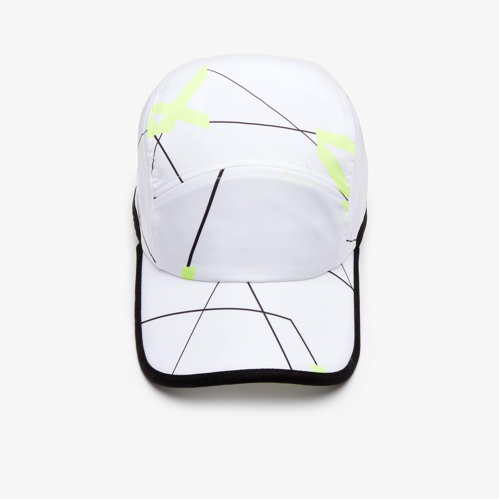 nowy haj Nowy Jork sportowa odzież sportowa Men's Lacoste SPORT Geometric Print Tennis Cap